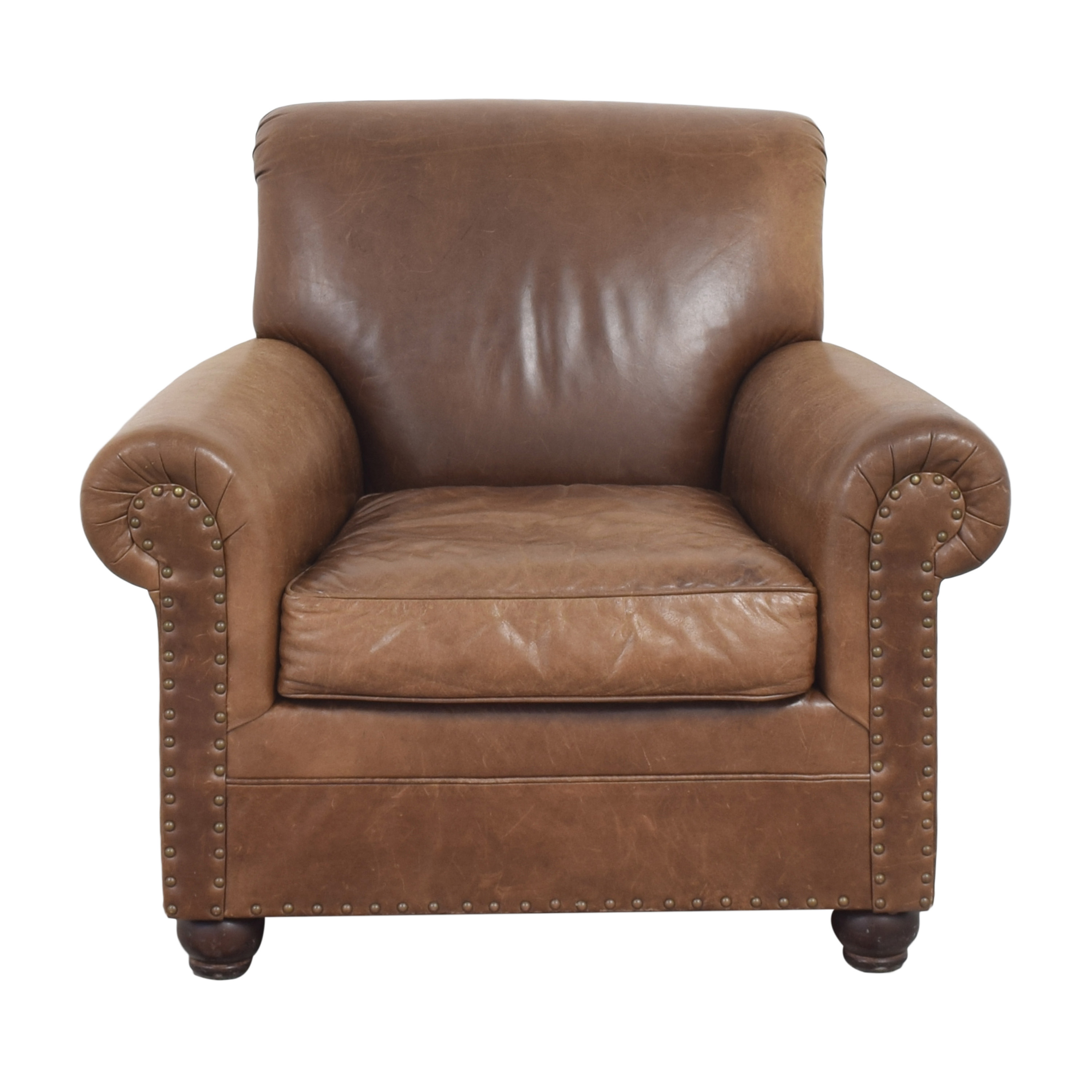 Restoration Hardware Nailhead Trim Armchair sale