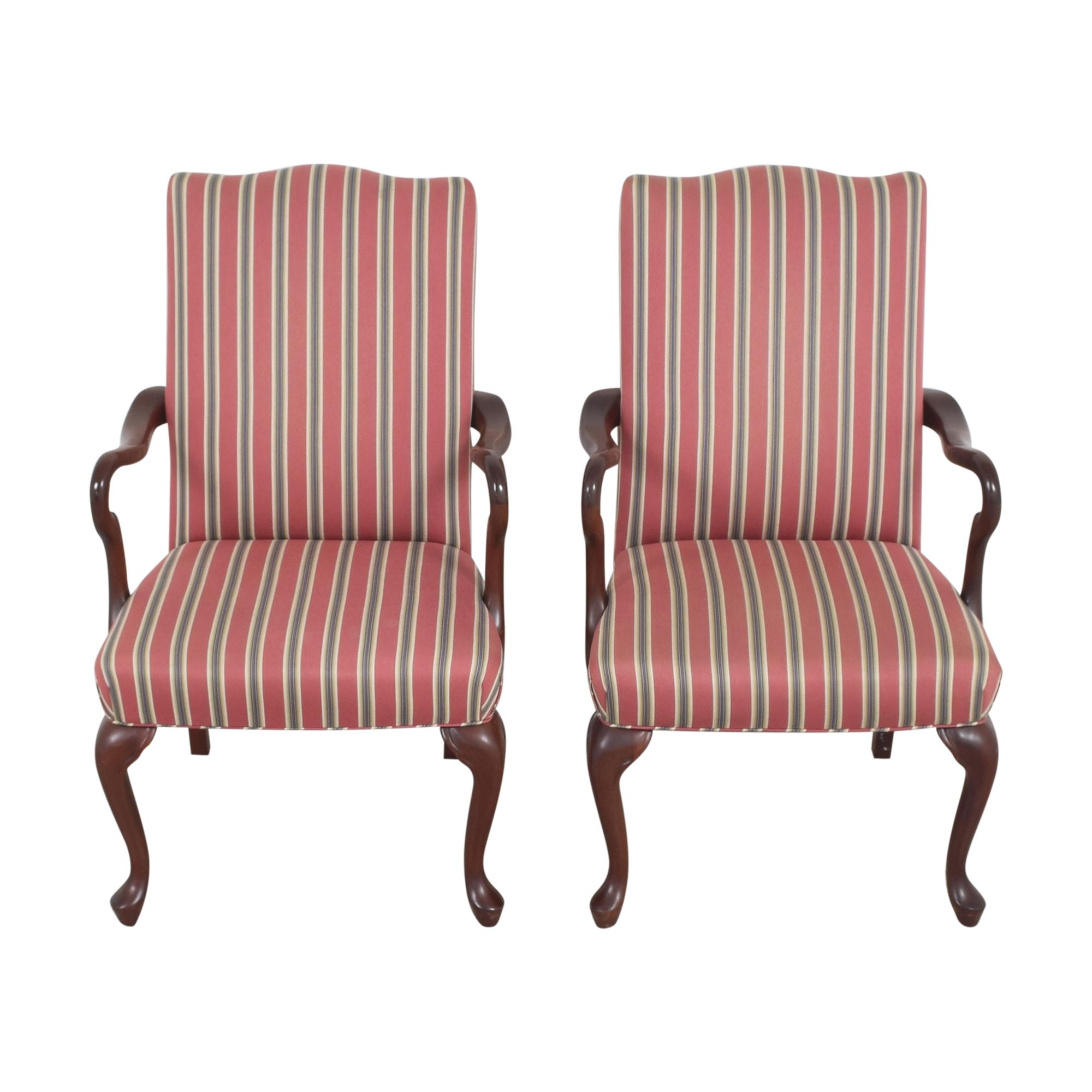 buy Haworth Stripe Dining Arm Chairs Haworth Dining Chairs