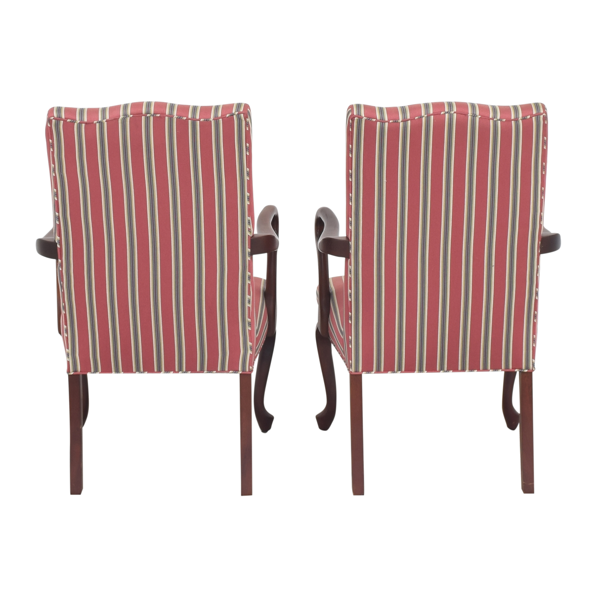 Haworth Haworth Stripe Dining Arm Chairs used