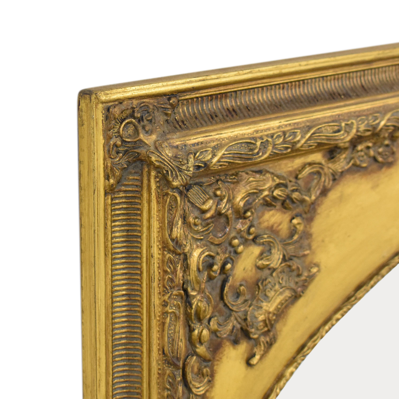 Ornate Framed Wall Mirror pa