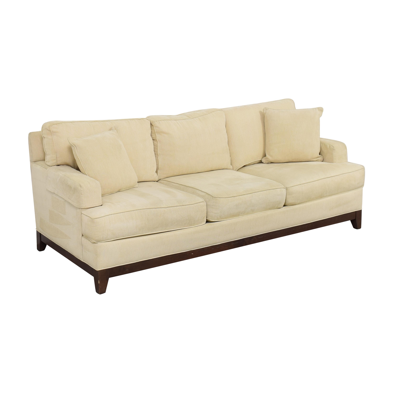 shop Ethan Allen Arcata Three Cushion Sofa Ethan Allen Sofas