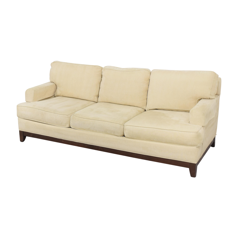 buy Ethan Allen Ethan Allen Arcata Three Cushion Sofa online
