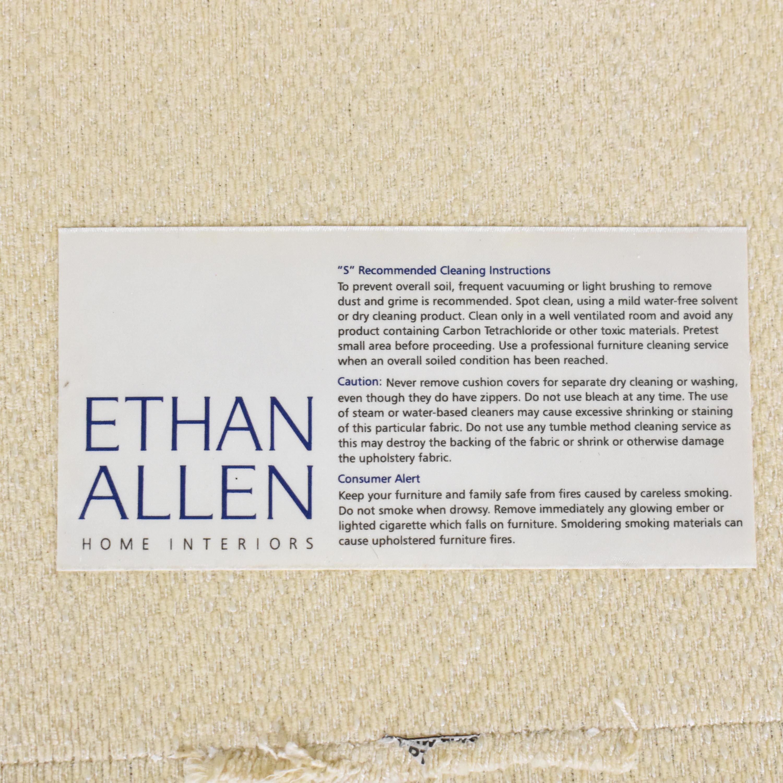 Ethan Allen Ethan Allen Arcata Three Cushion Sofa cream