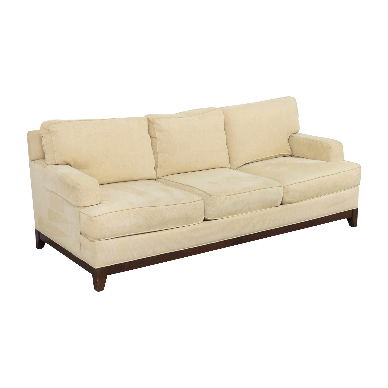 Ethan Allen Ethan Allen Arcata Three Cushion Sofa ct