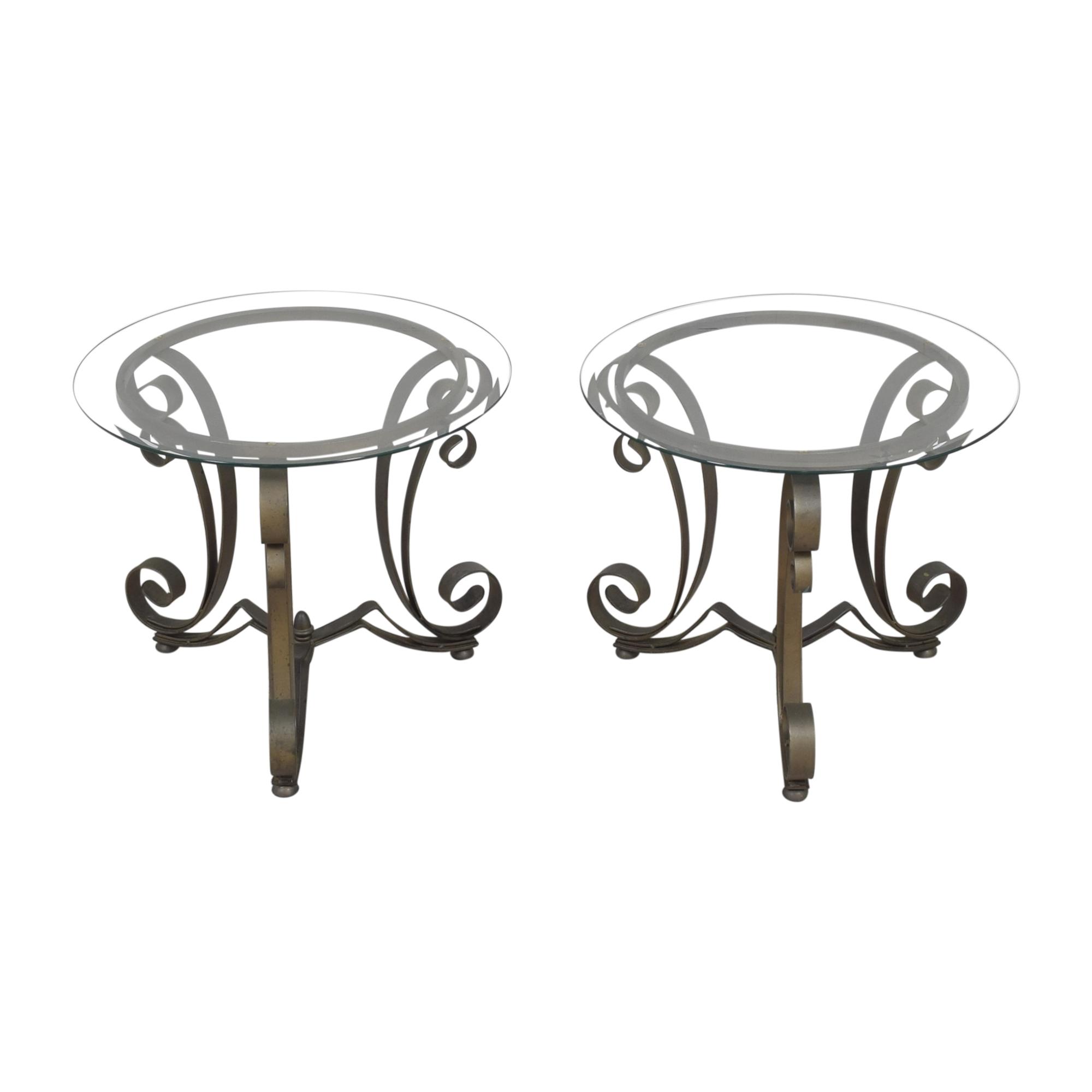 Bloomingdale's Art Deco End Tables / End Tables