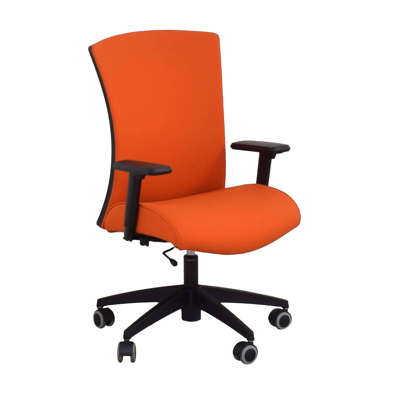 shop Global Furniture Group Vion Upholstered High Back Task Chair Global Furniture Group