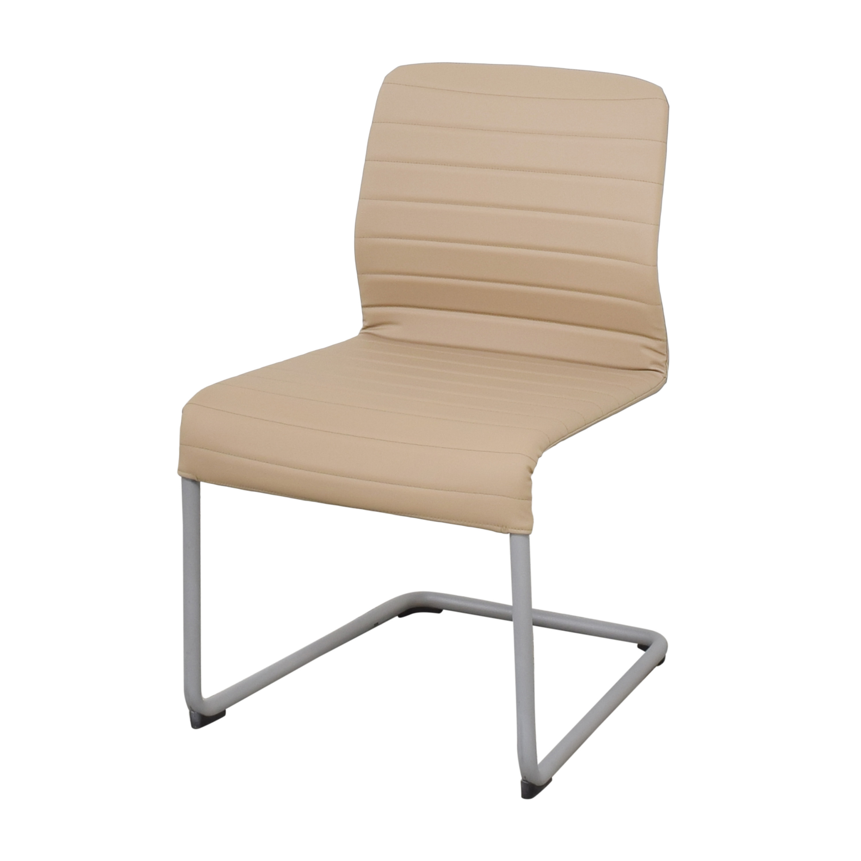 shop Global Furniture Group Lite Cantilever Frame Side Chairs Global Furniture Group Dining Chairs