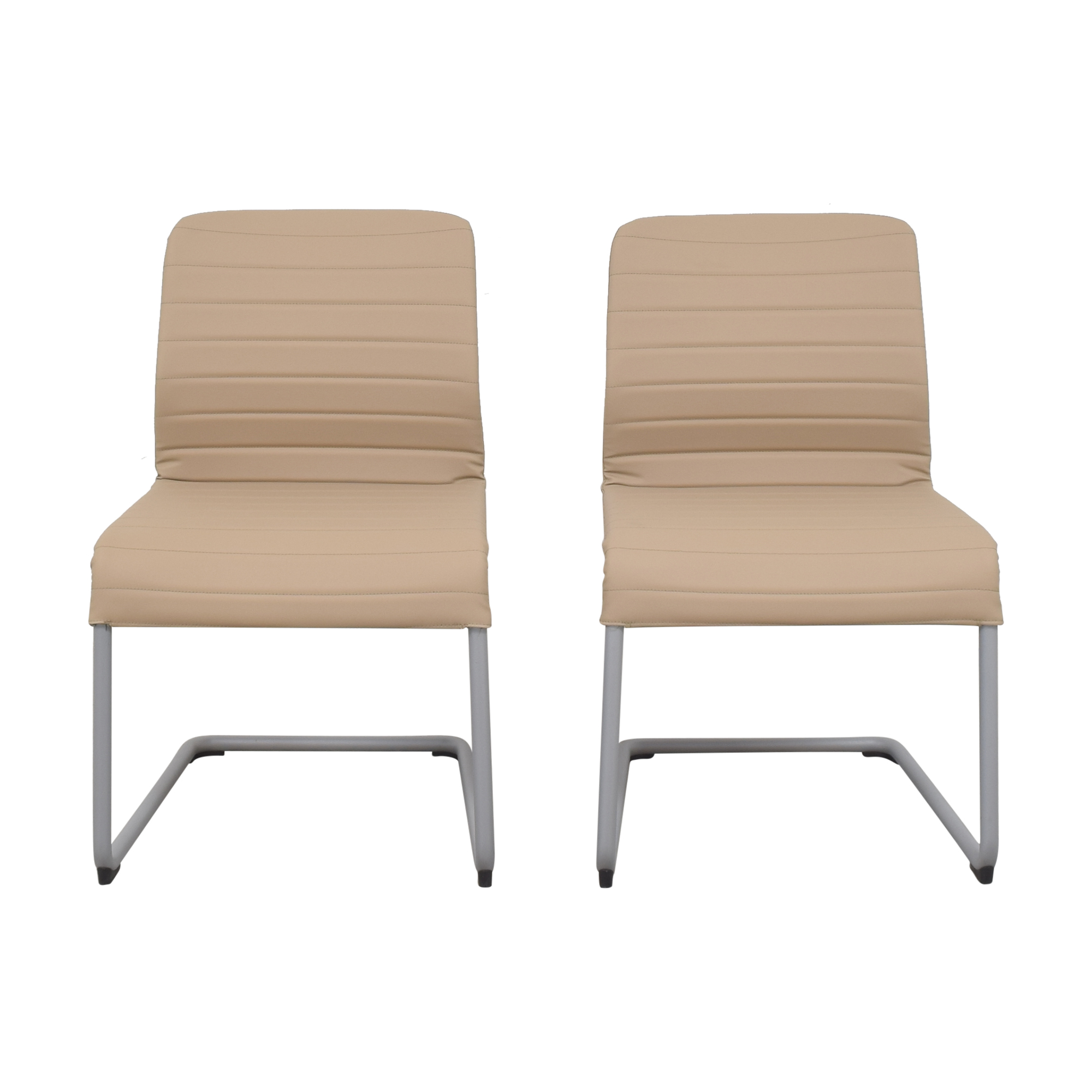 Global Furniture Group Global Furniture Group Lite Cantilever Frame Side Chairs Dining Chairs