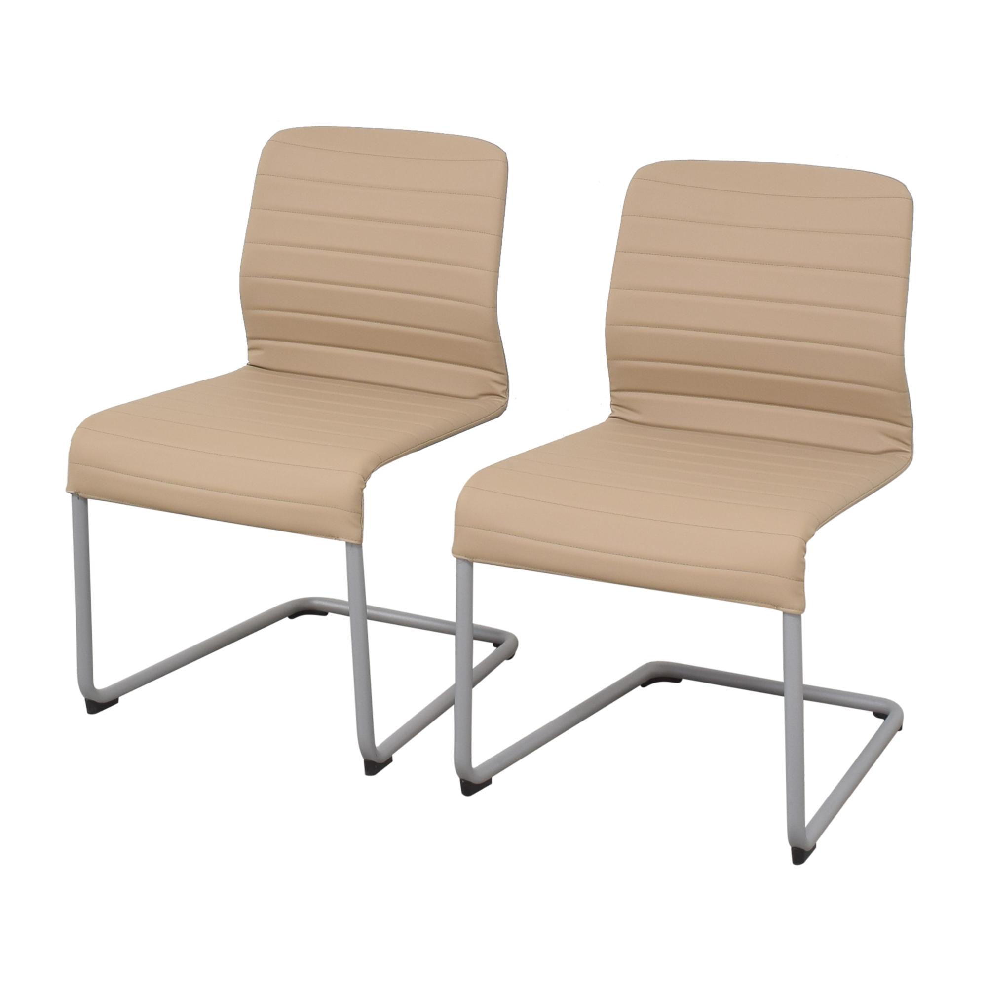 Global Furniture Group Global Furniture Group Lite Side Chairs nyc