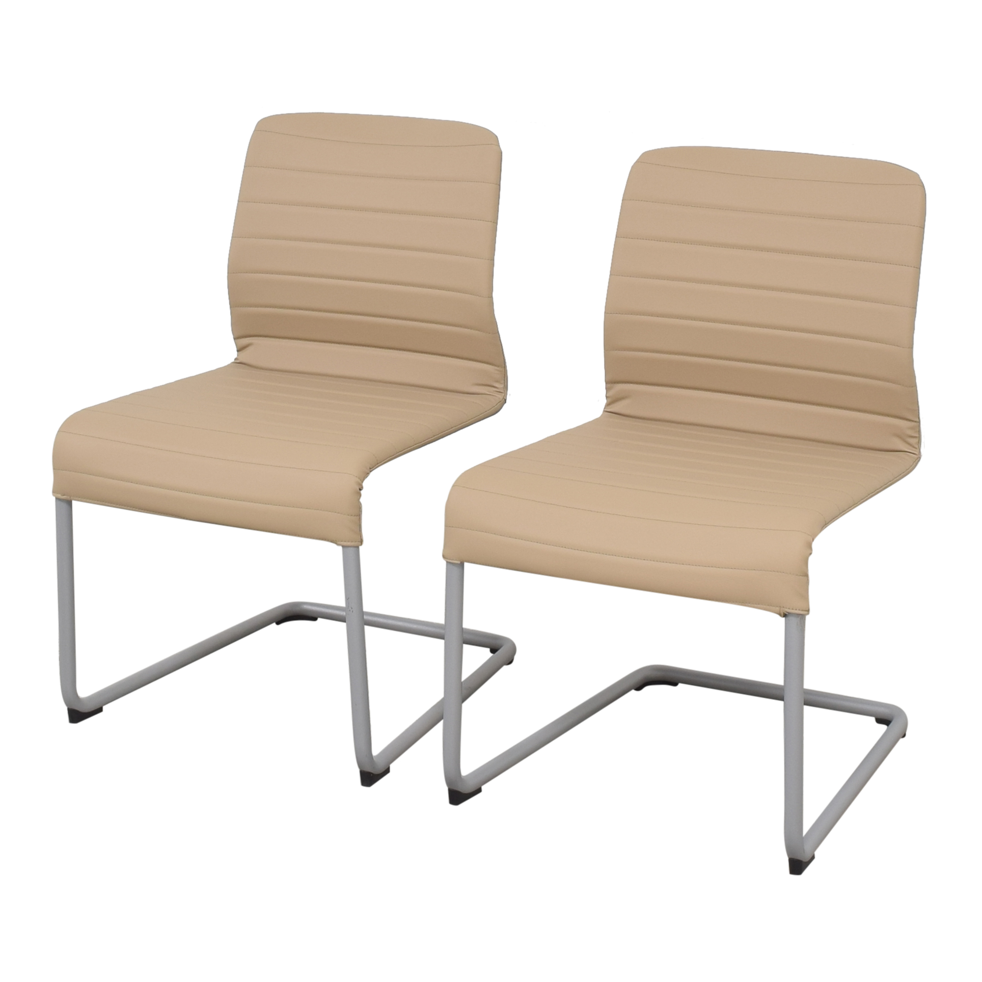 Global Furniture Group Lite Cantilever Frame Side Chairs / Home Office Chairs