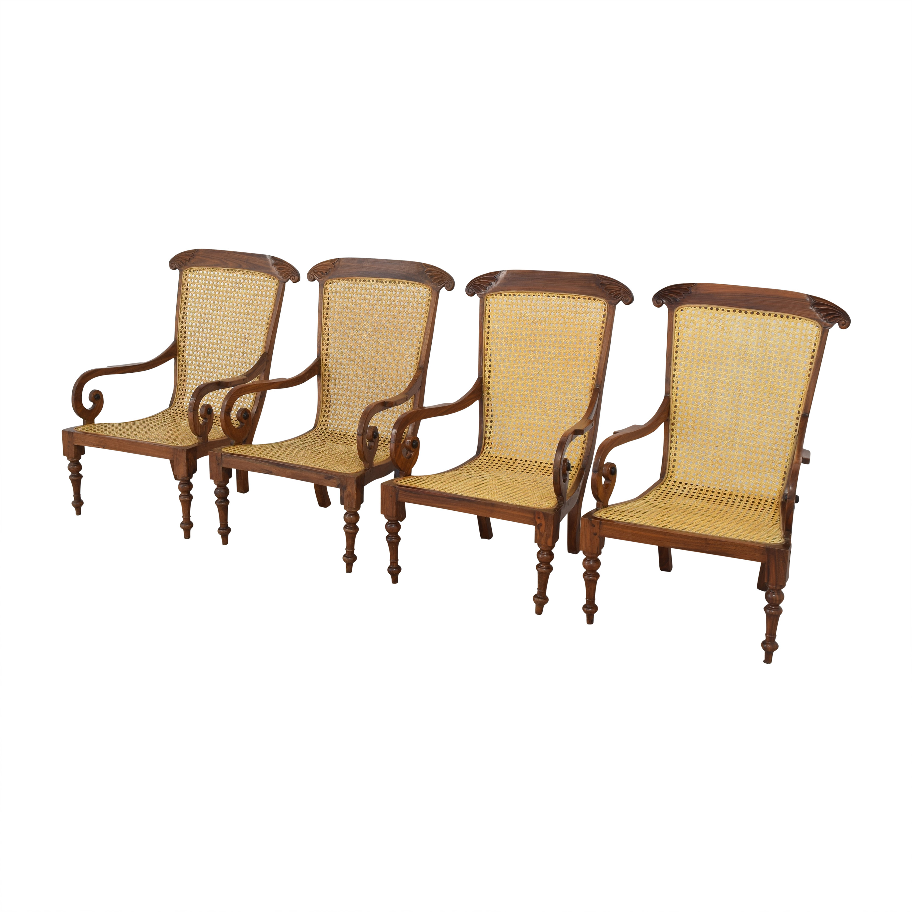 Vintage Carved Colonial-Style Chairs price