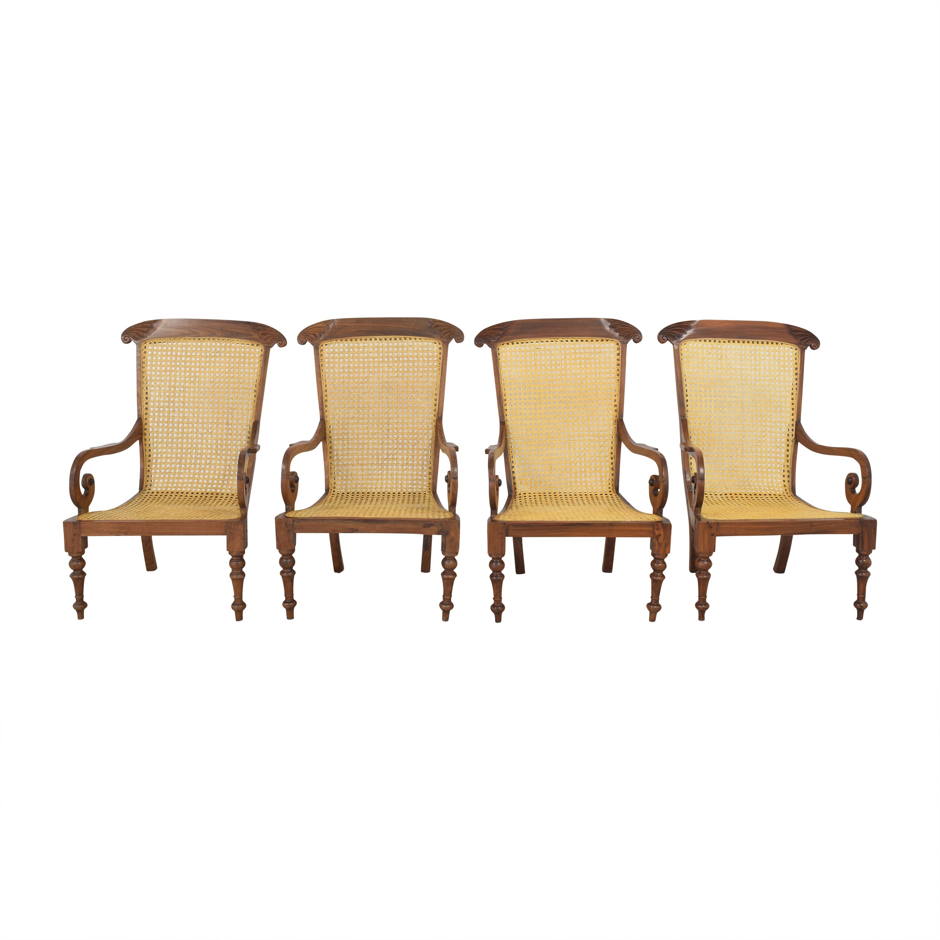 shop Vintage Carved Colonial-Style Chairs  Chairs