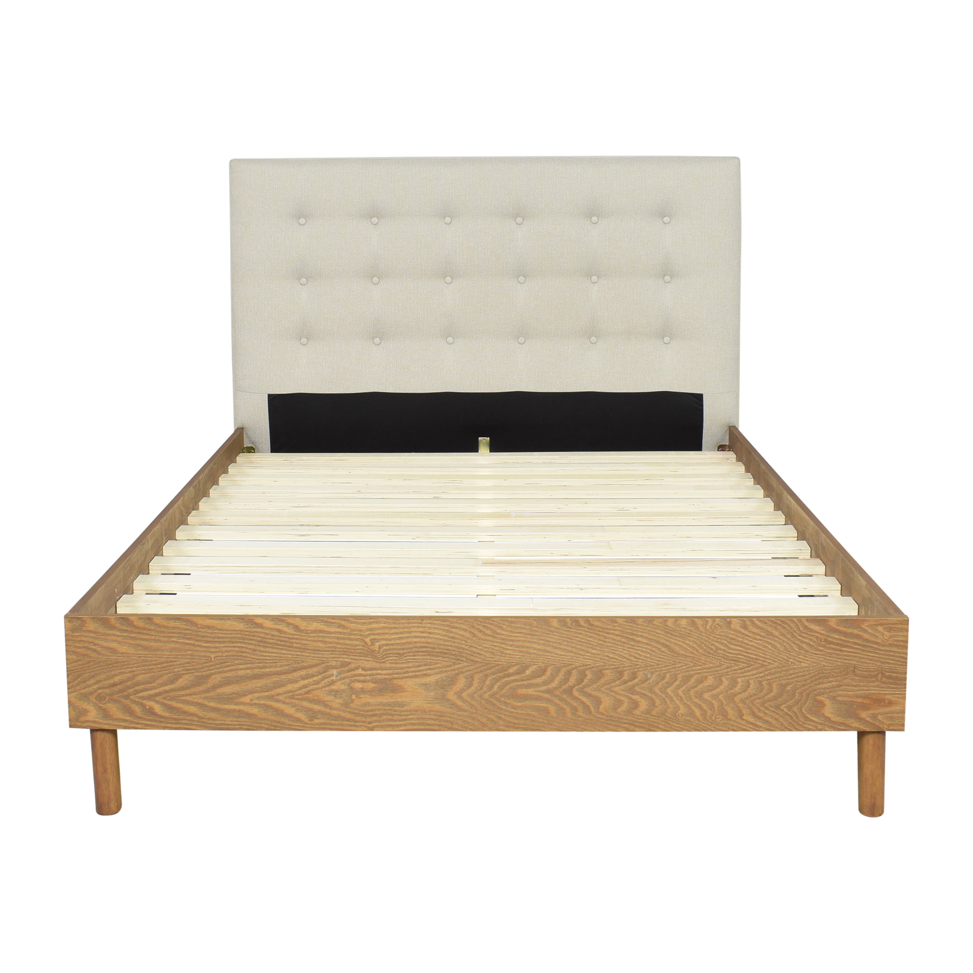 Baxton Studio Baxton Studio Mid Century-Style Full Bed