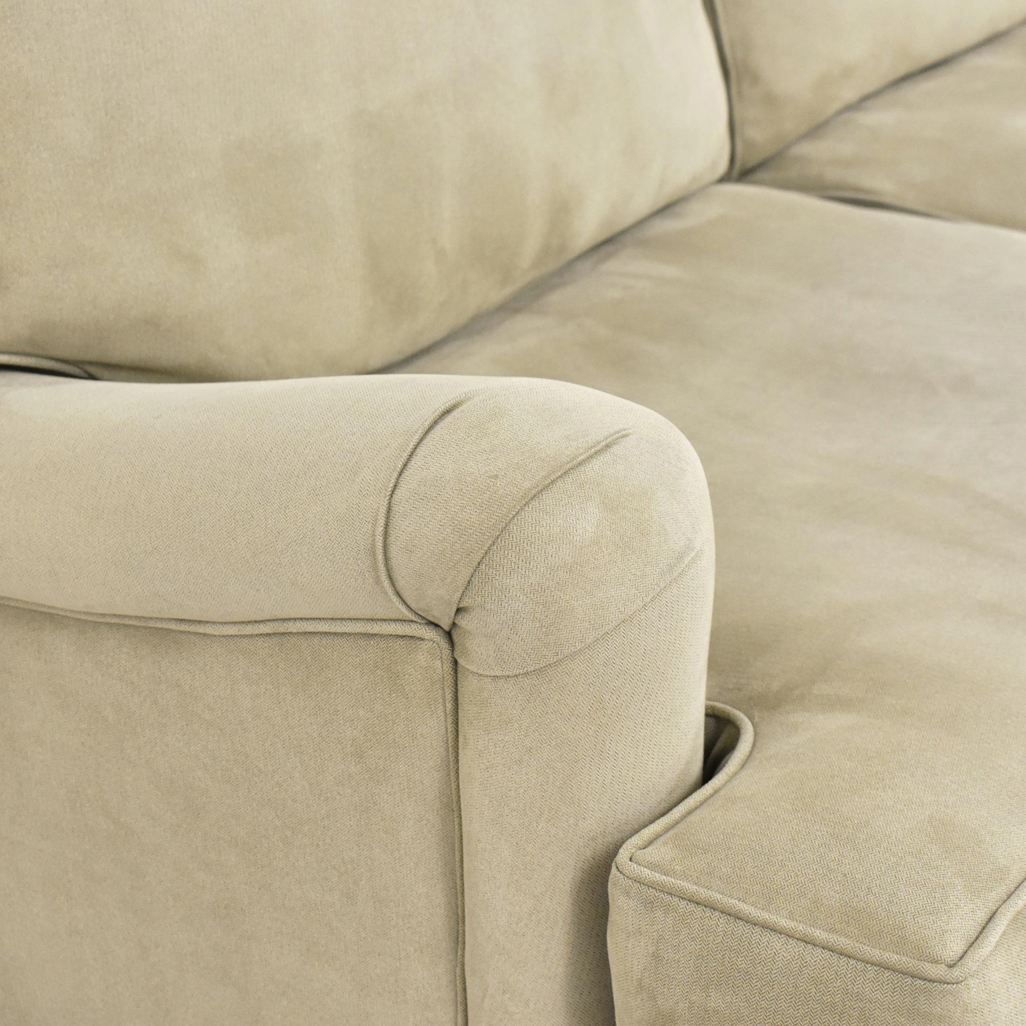 Custom Two Cushion Sofa ma