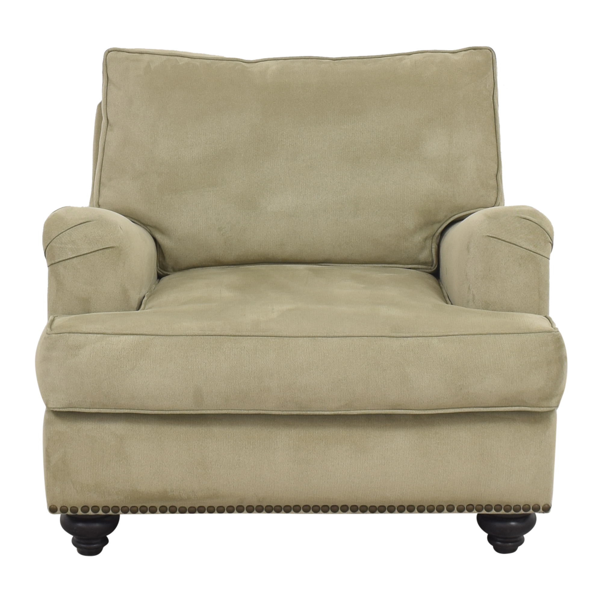 shop  Nailhead Accent Chair with Ottoman online