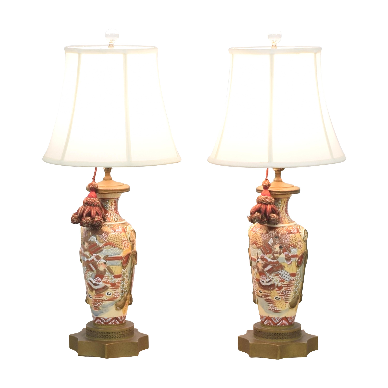 Japanese Satsuma Vase Table Lamps price