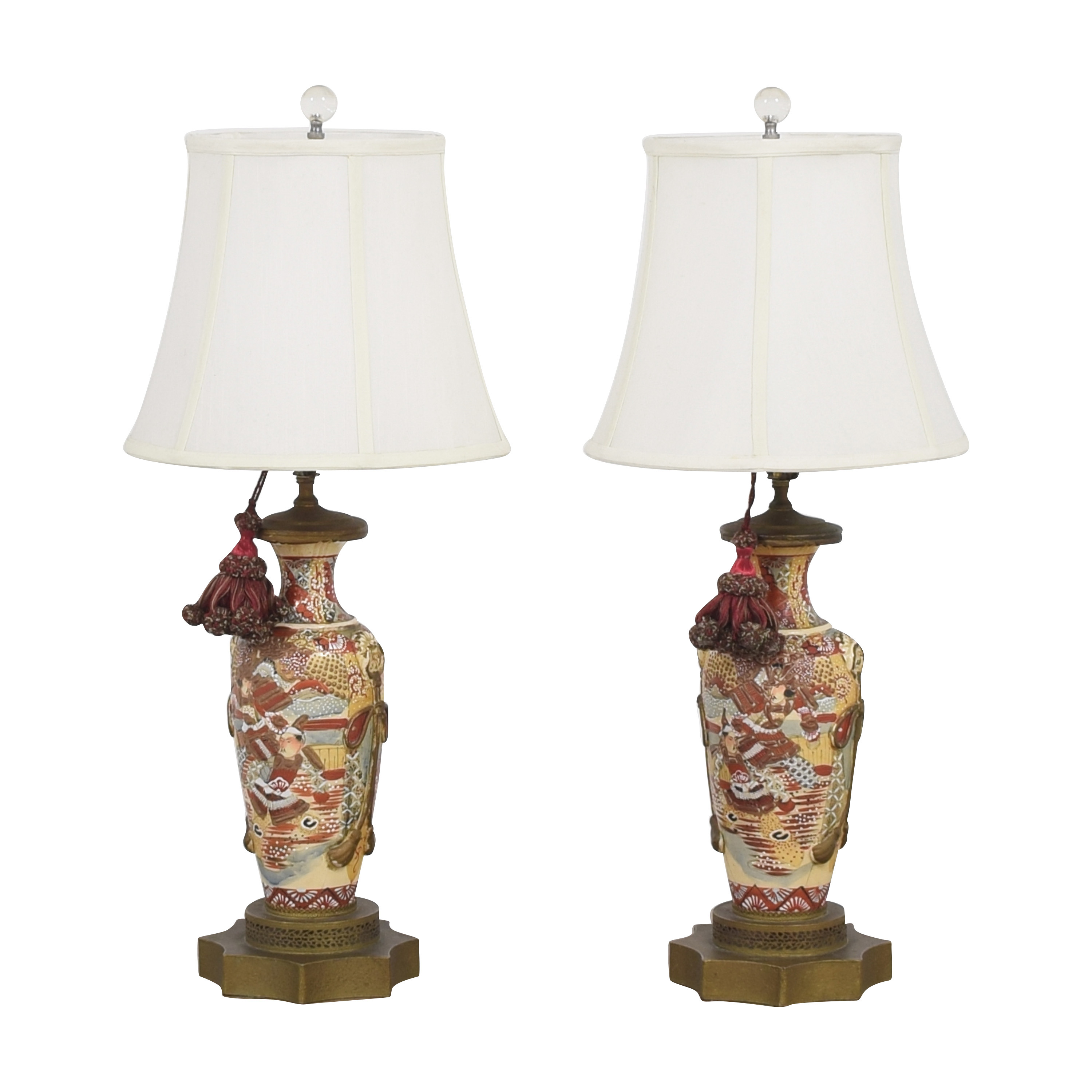 buy  Japanese Satsuma Vase Table Lamps online