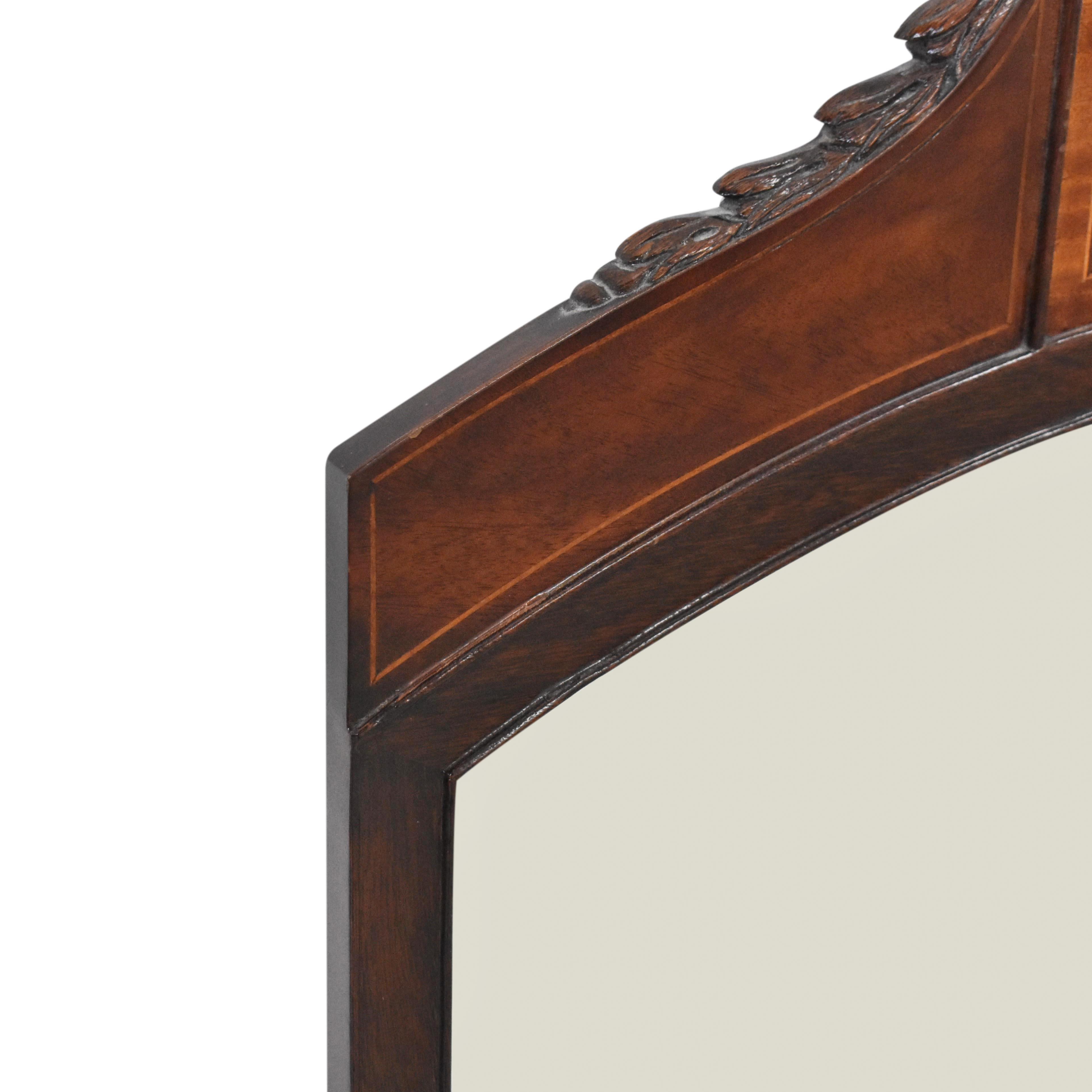 Flint & Horner Flint & Horner Antique Inlaid Mirror ma
