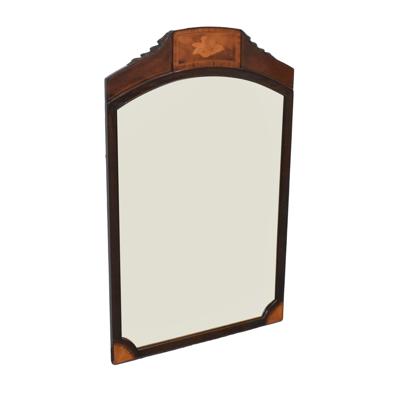 buy Flint & Horner Antique Inlaid Mirror Flint & Horner