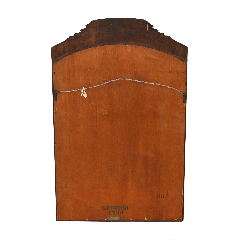 Flint & Horner Flint & Horner Antique Inlaid Mirror brown