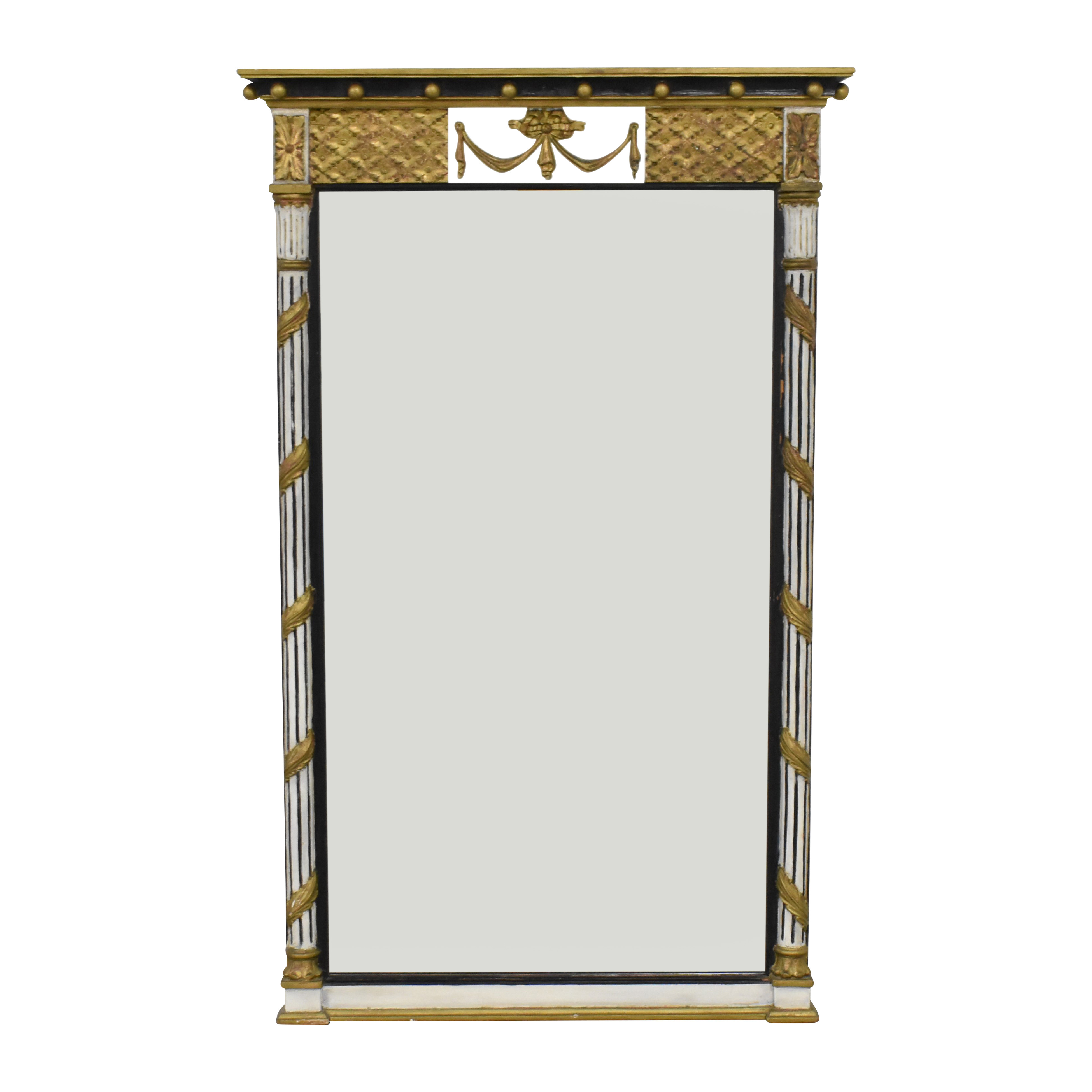 Ornate Rectangular Hall Mirror on sale