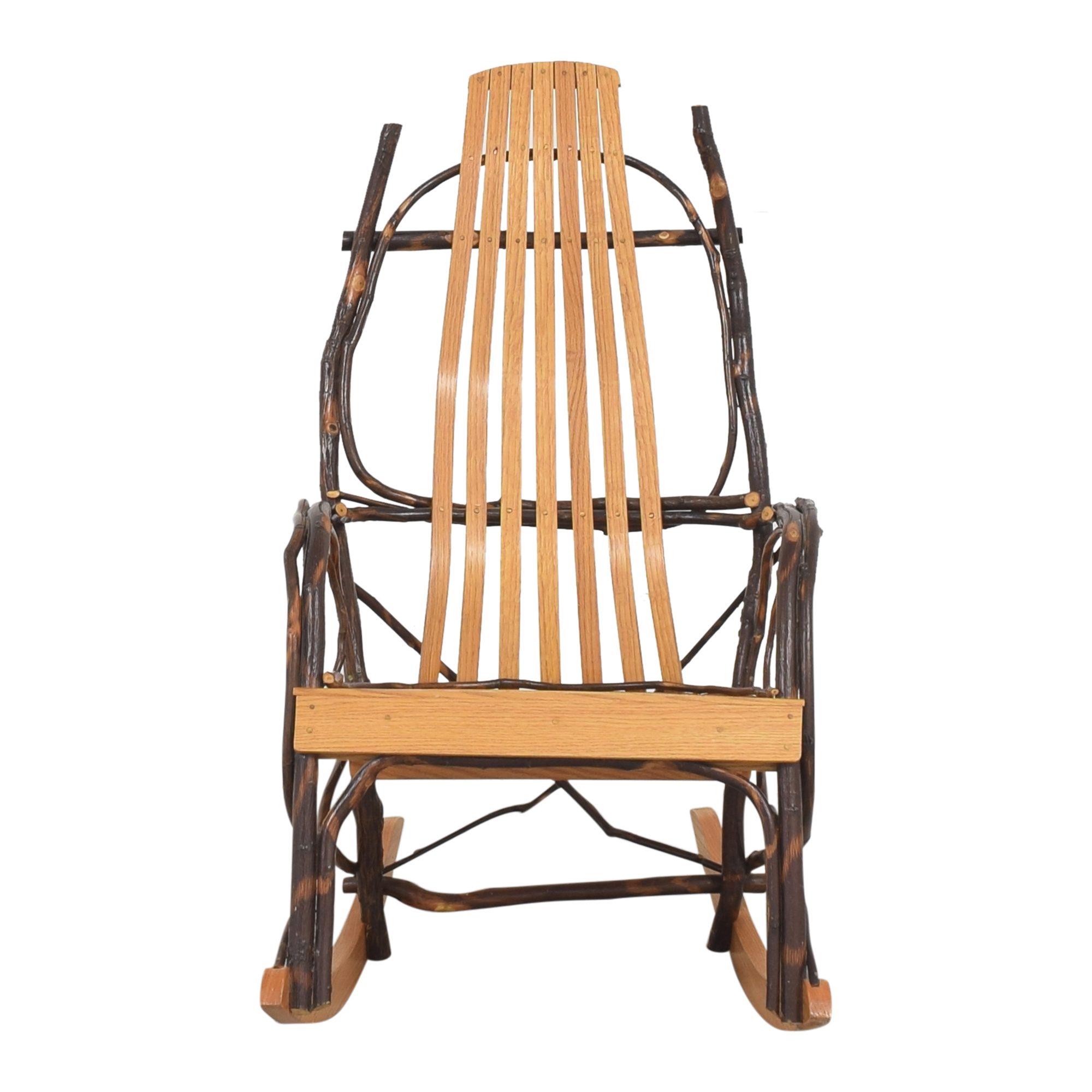 Custom Bentwood-Style Rocker Chair