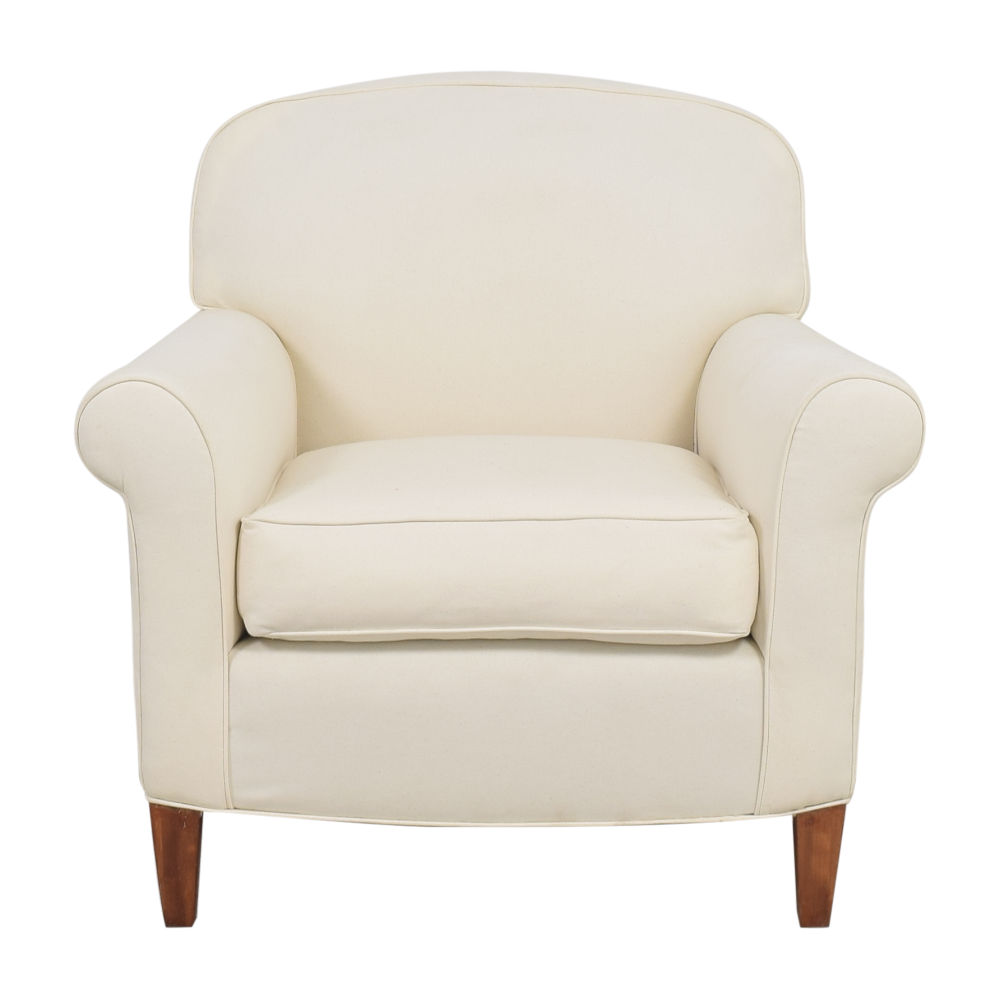 Roll Arm Accent Chair price