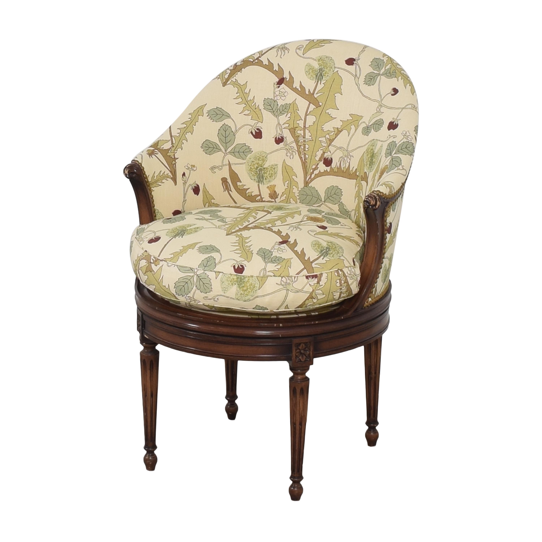 Smith & Watson Smith & Watson French-Style Swivel Chair pa