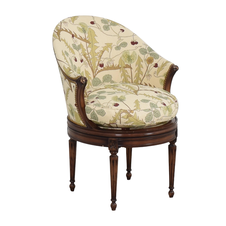 Smith & Watson Smith & Watson French-Style Swivel Chair discount