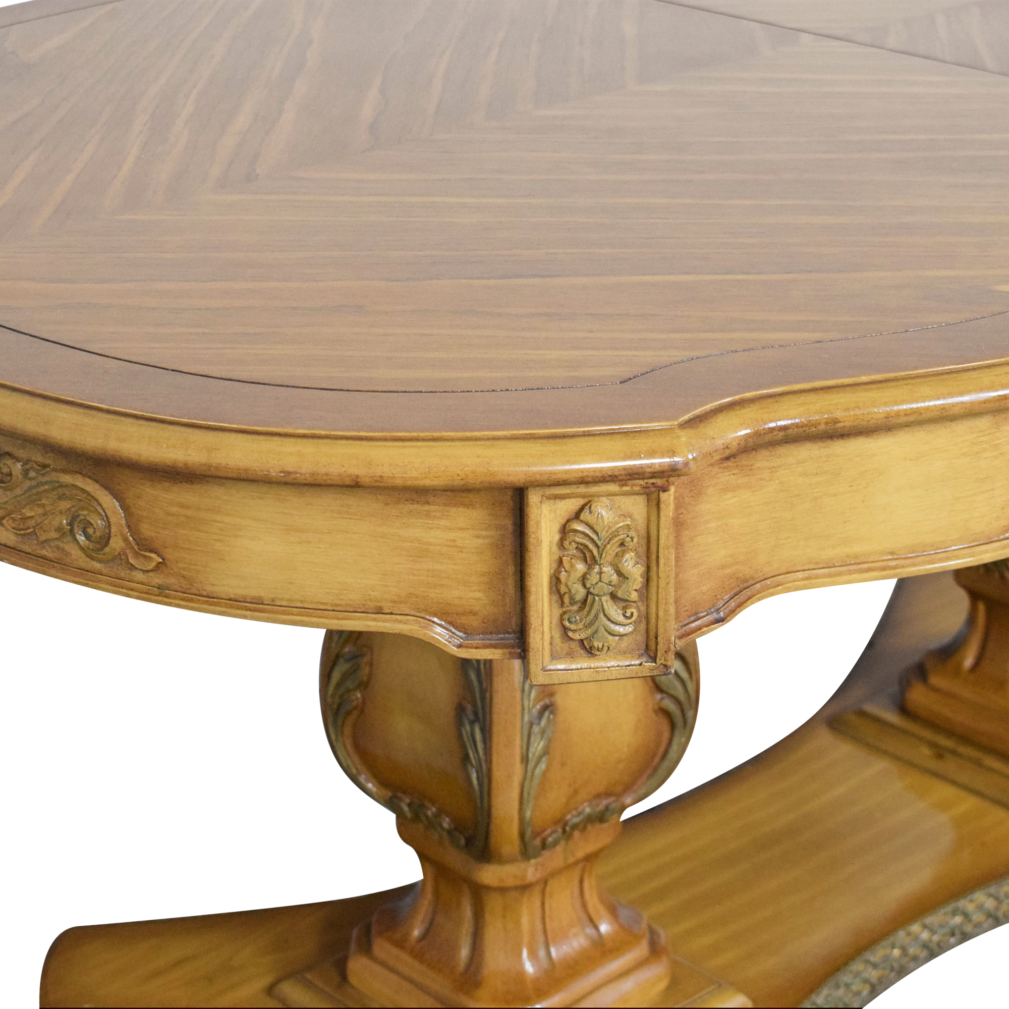 shop Oval Extendable Dining Table  Dinner Tables