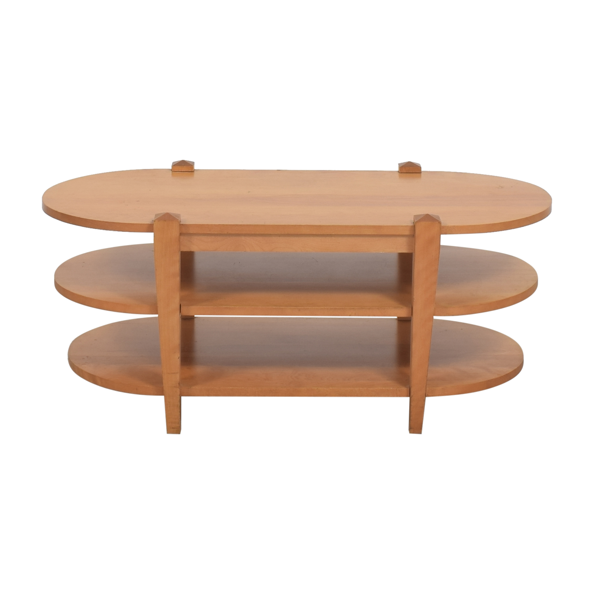 shop Levenger Tri-Level Coffee Table Levenger Tables