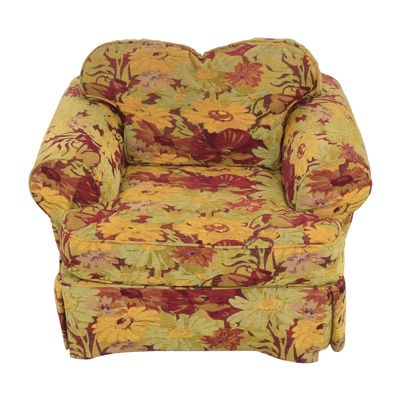 shop ABC Carpet & Home ABC Carpet & Home Oversized Floral Arm Chair online