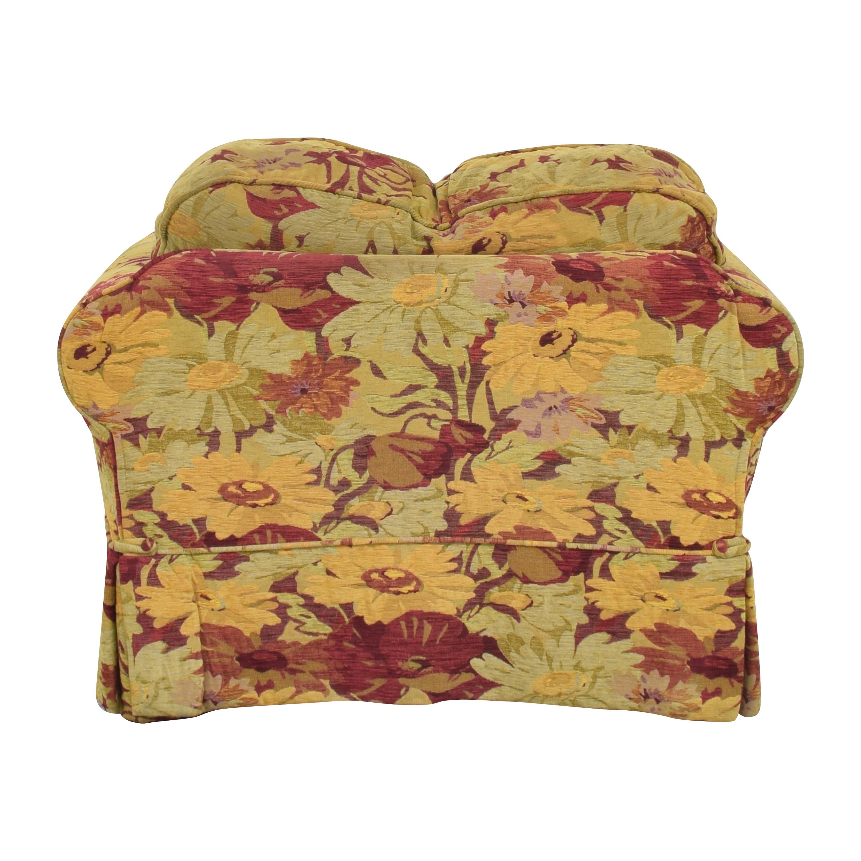 buy ABC Carpet & Home ABC Carpet & Home Oversized Floral Arm Chair online