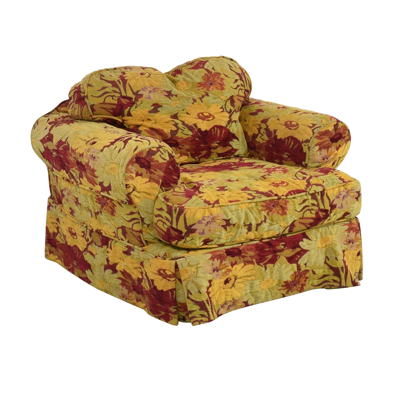 ABC Carpet & Home ABC Carpet & Home Oversized Floral Arm Chair discount