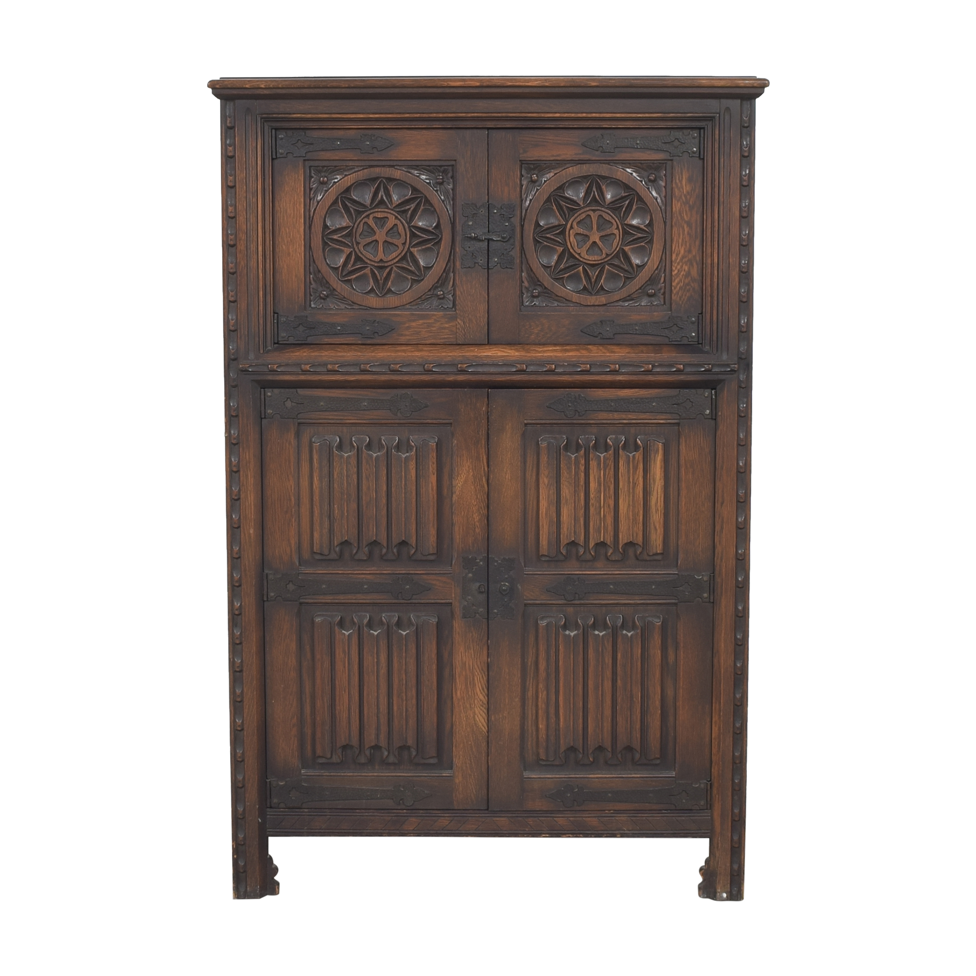 buy Antique Carved Banquet Chest