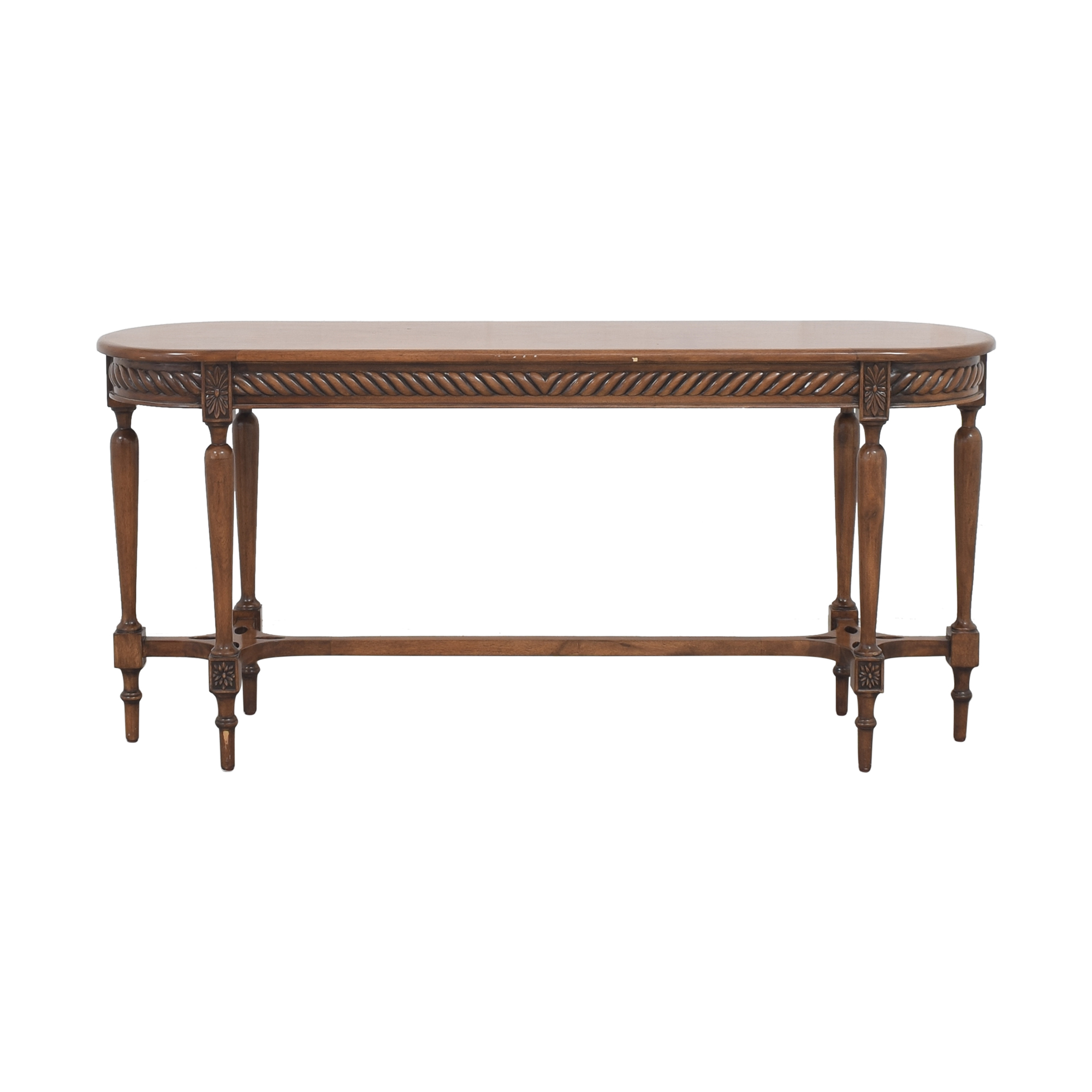 Kreiss Kreiss Oval Console Table Accent Tables