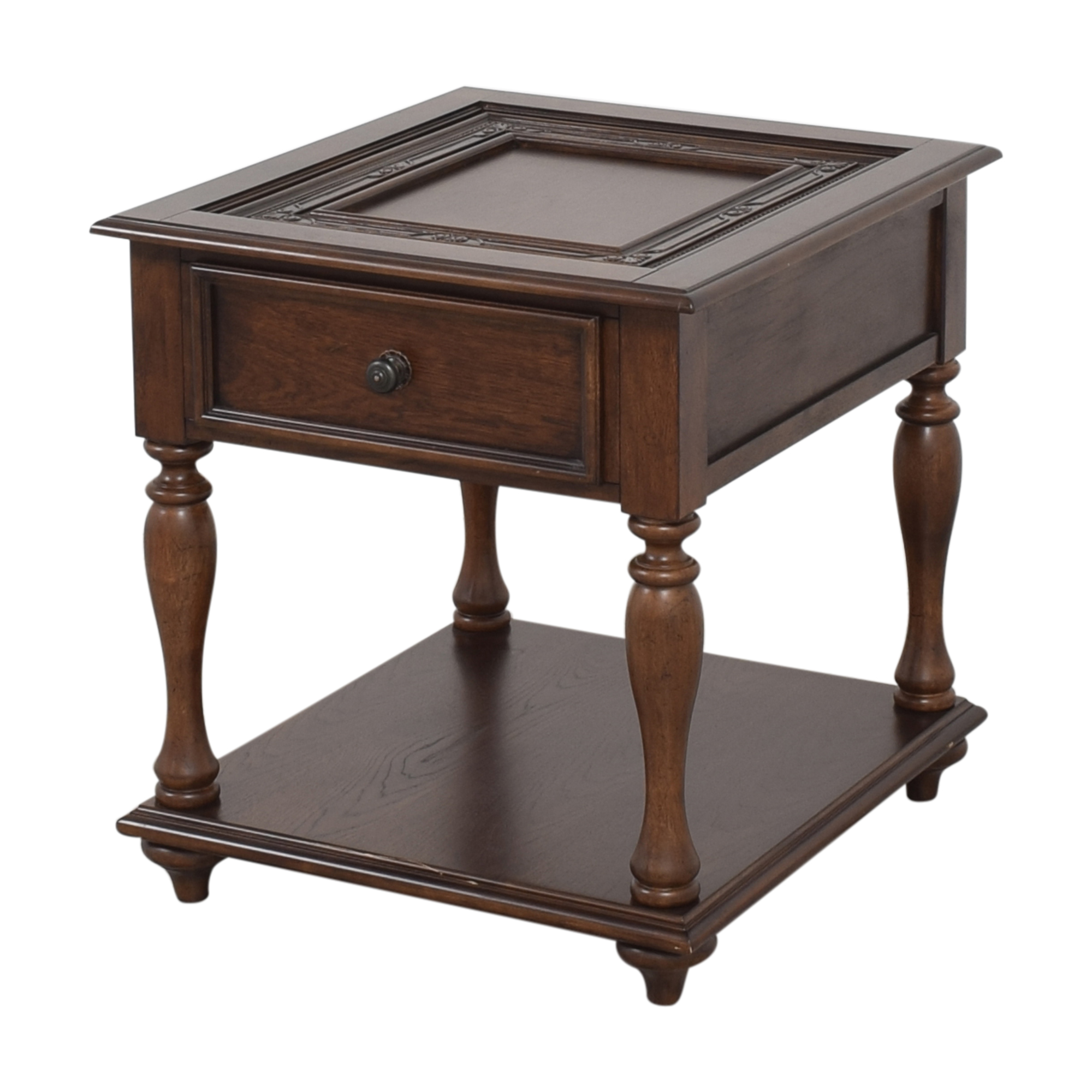 Single Drawer End Table second hand