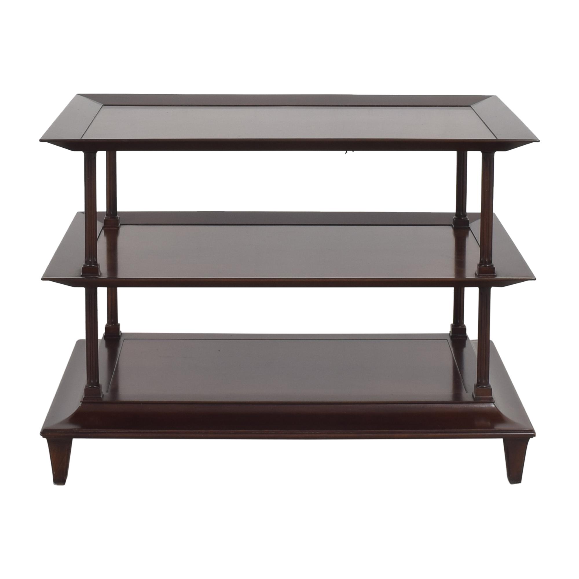 Baker Furniture Baker Furniture Kashmir Three Tier Accent Table for sale