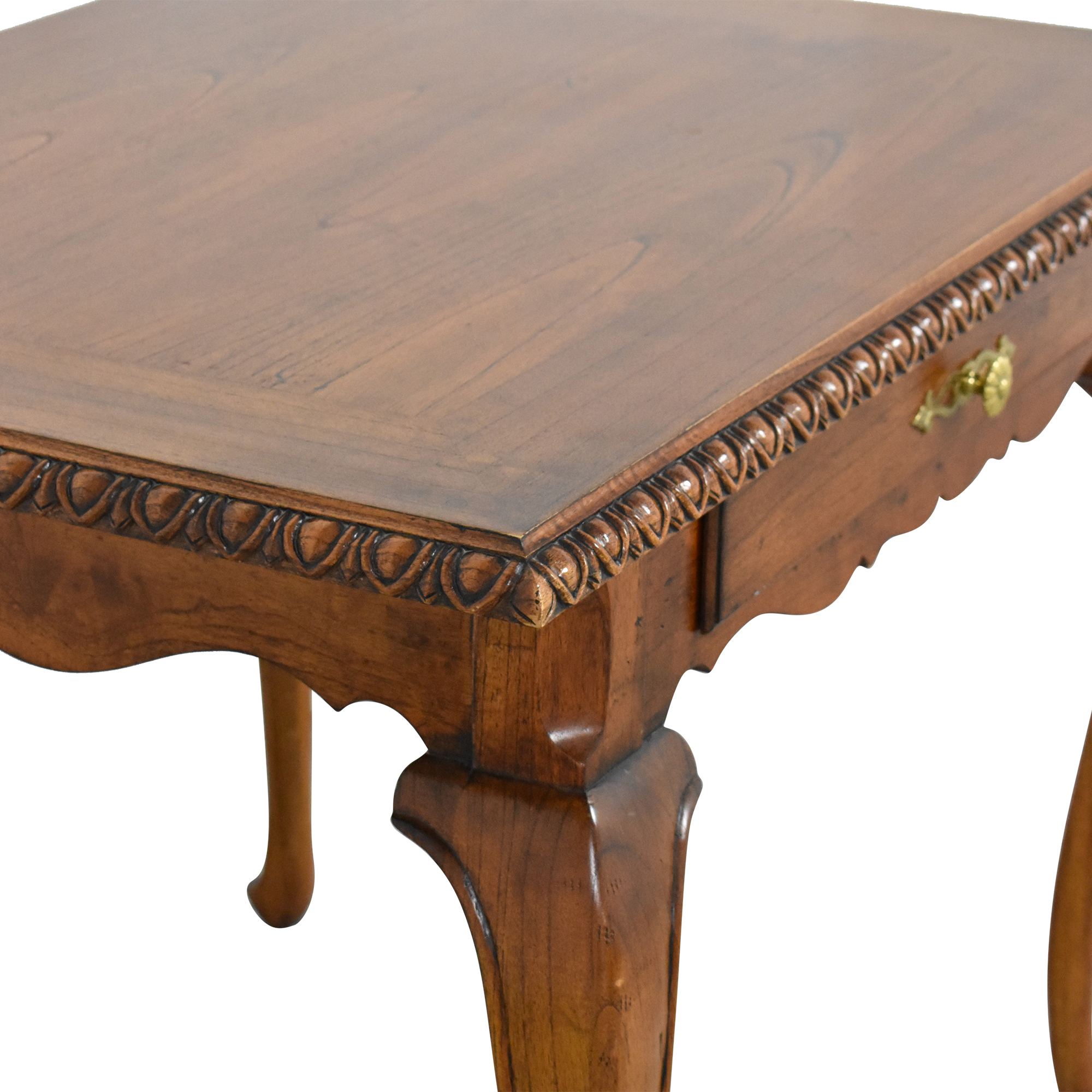 French Heritage French Heritage George III Serpentine Writing Desk on sale