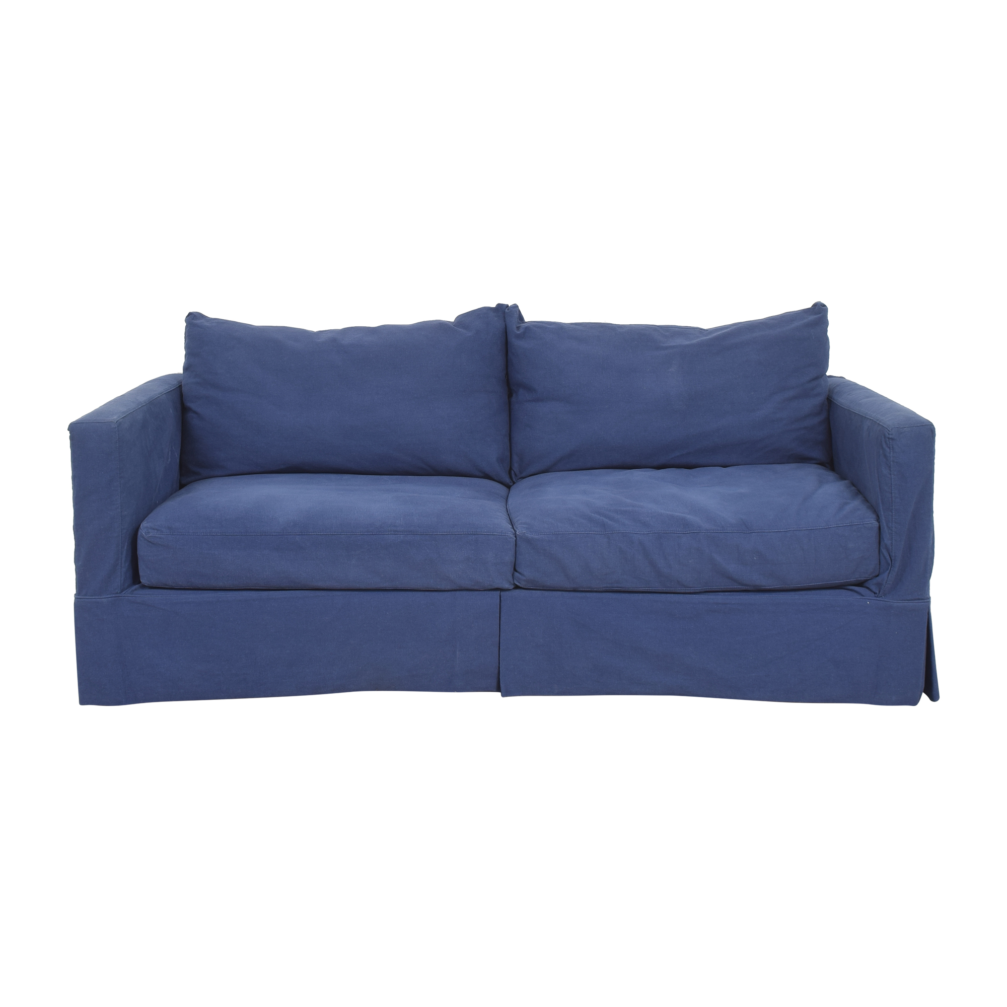 Crate & Barrel Crate & Barrel Willow Modern Slipcovered Sofa Sofas