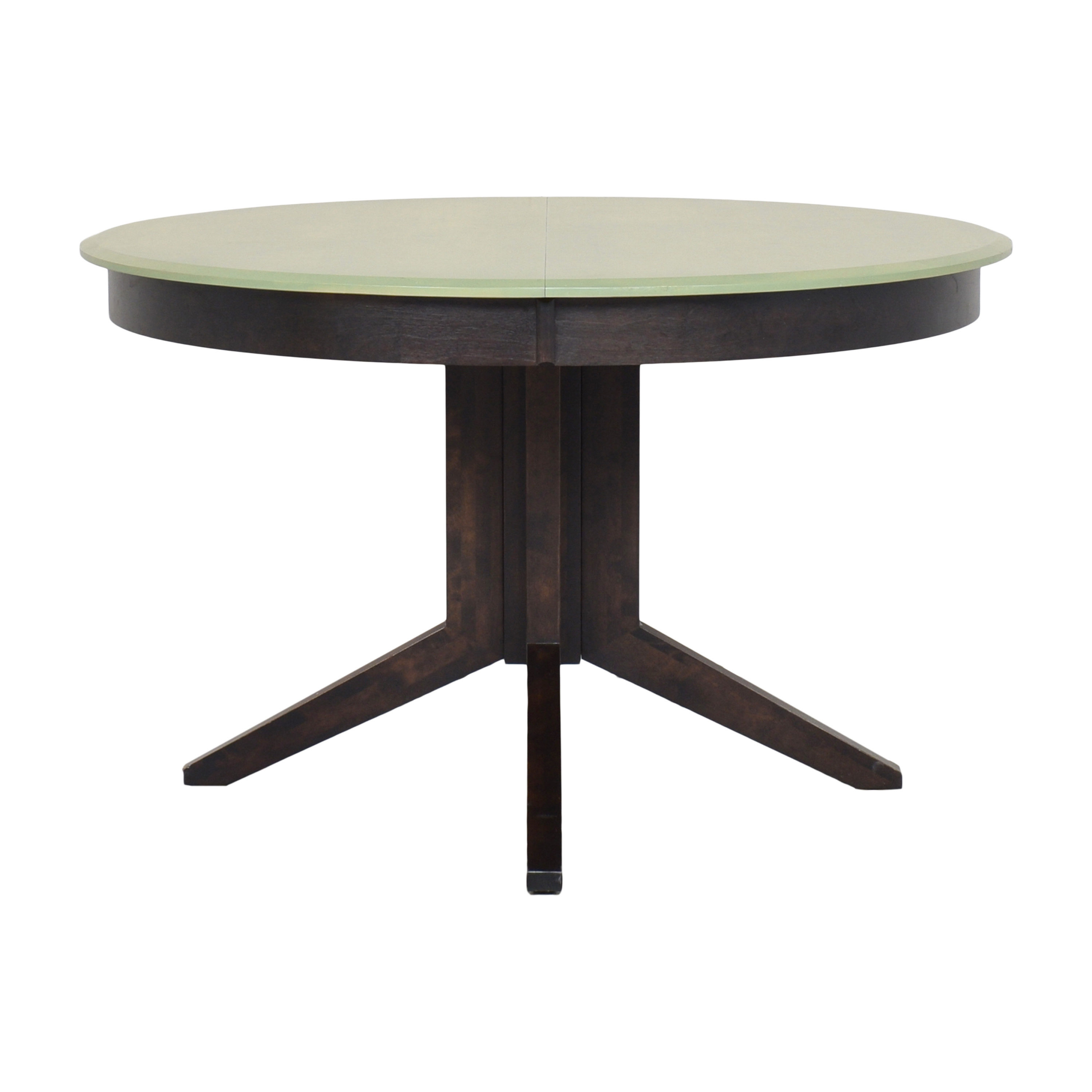 Extendable Pedestal Dining Table