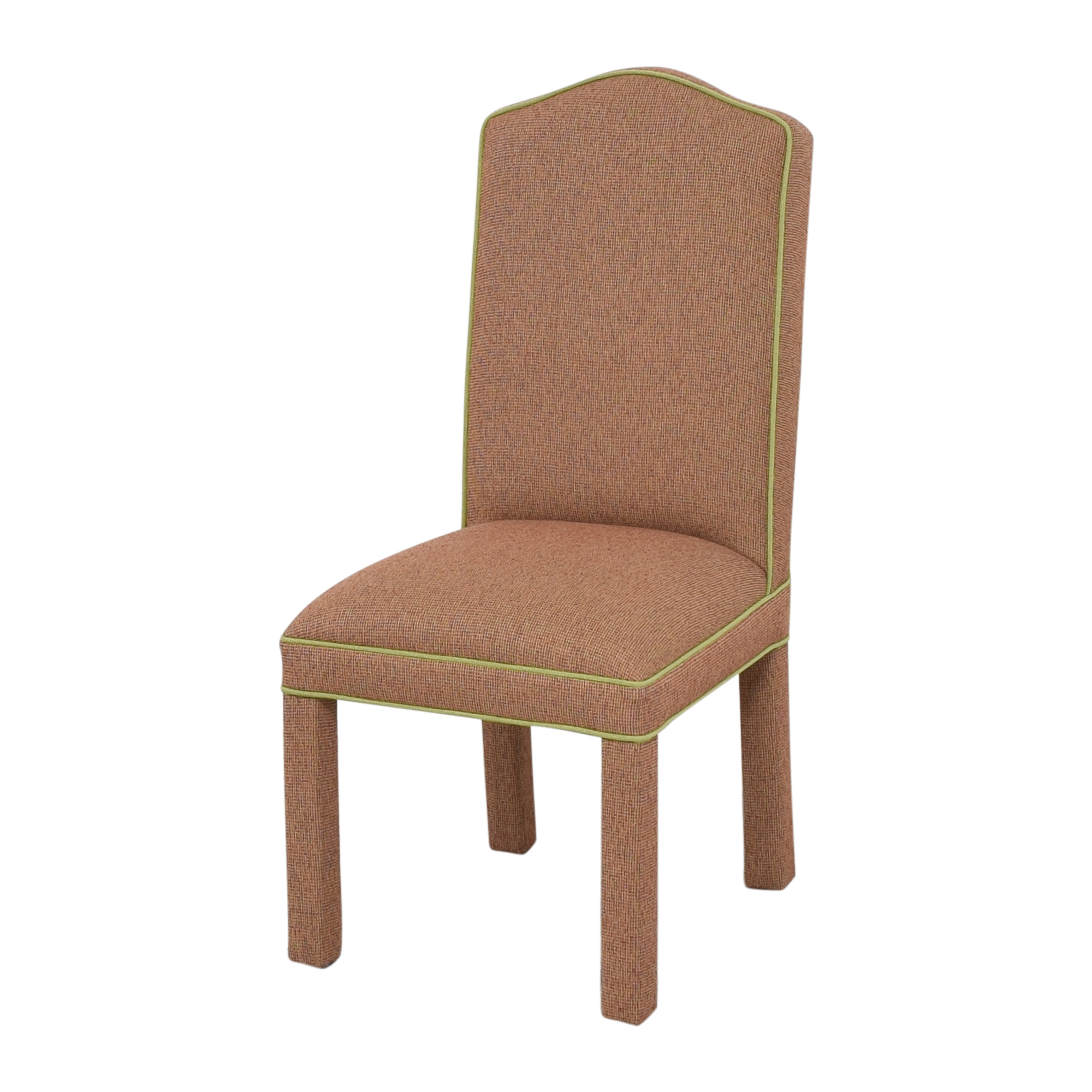 Custom Upholstered High Back Dining Chairs