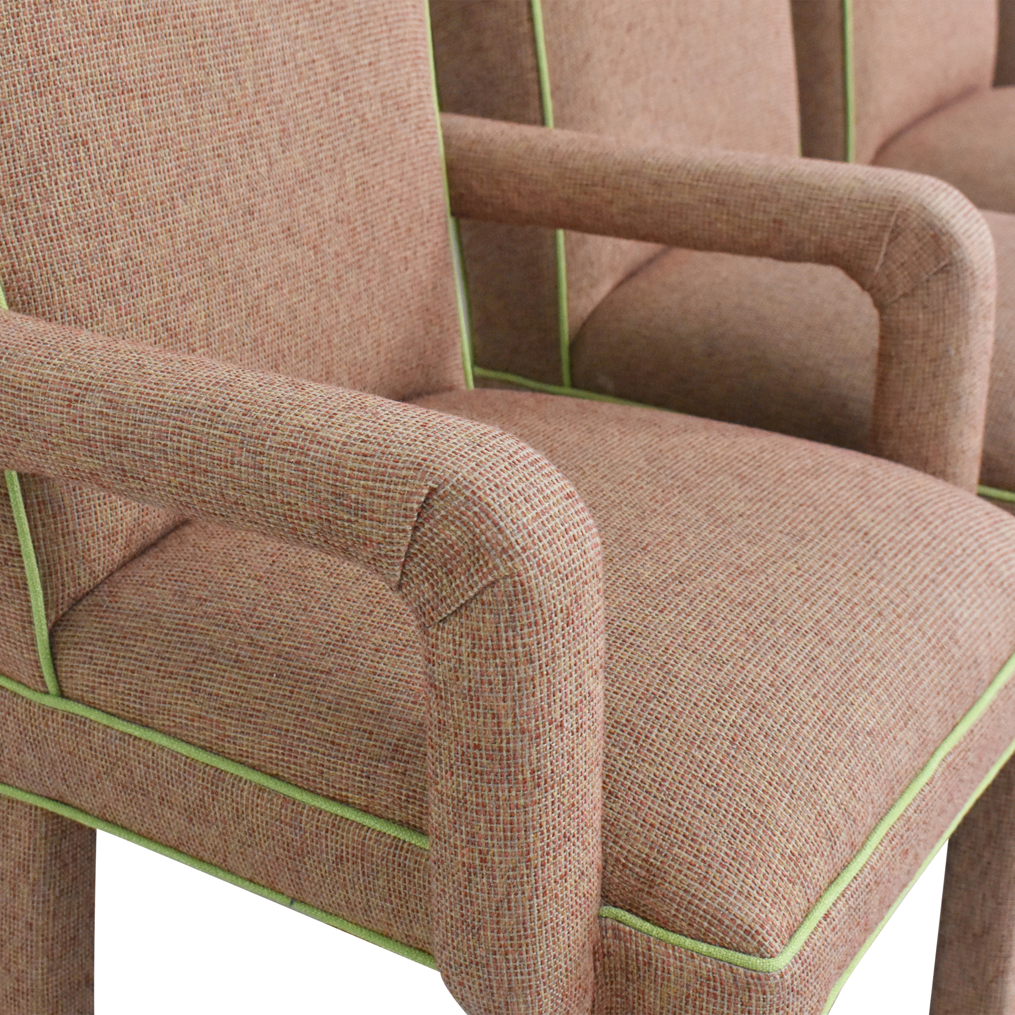 Custom Upholstered High Back Dining Chairs / Dining Chairs