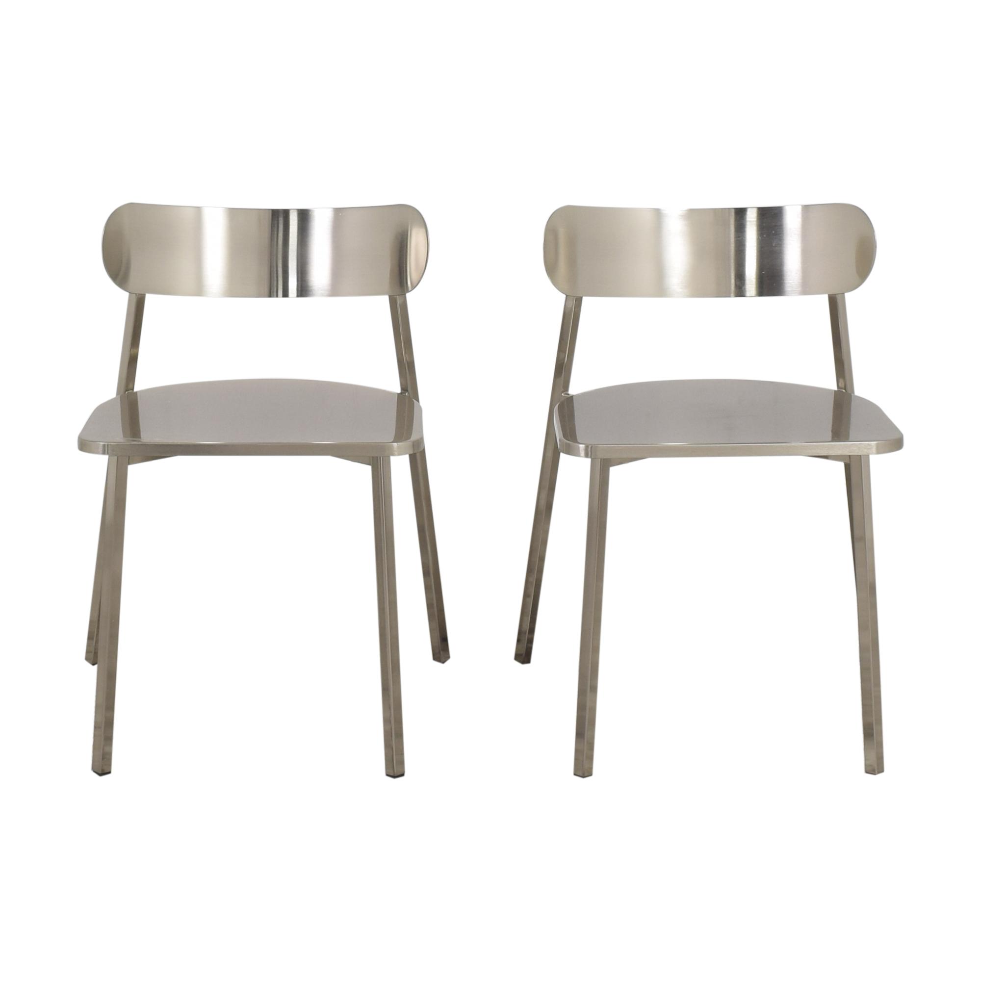 CB2 Fleet Chairs / Dining Chairs