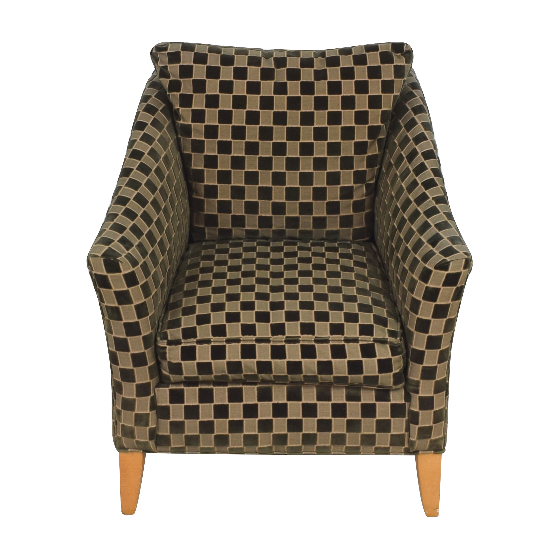 shop Ethan Allen Upholstered Accent Chair Ethan Allen Accent Chairs