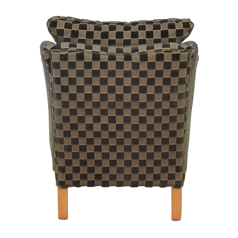 shop Ethan Allen Upholstered Accent Chair Ethan Allen Chairs