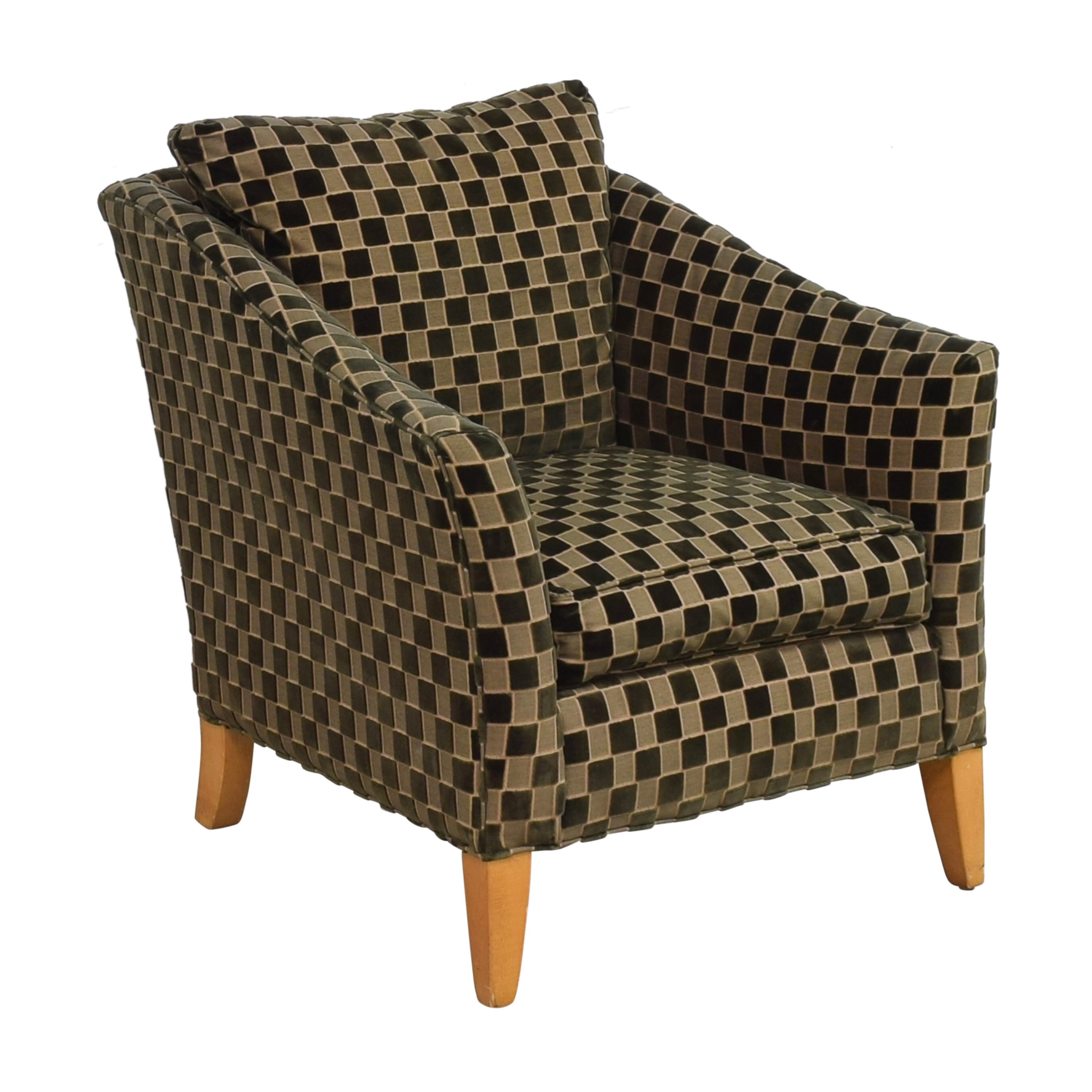 Ethan Allen Upholstered Accent Chair sale