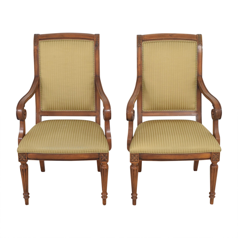buy Ethan Allen Adison Dining Arm Chairs Ethan Allen