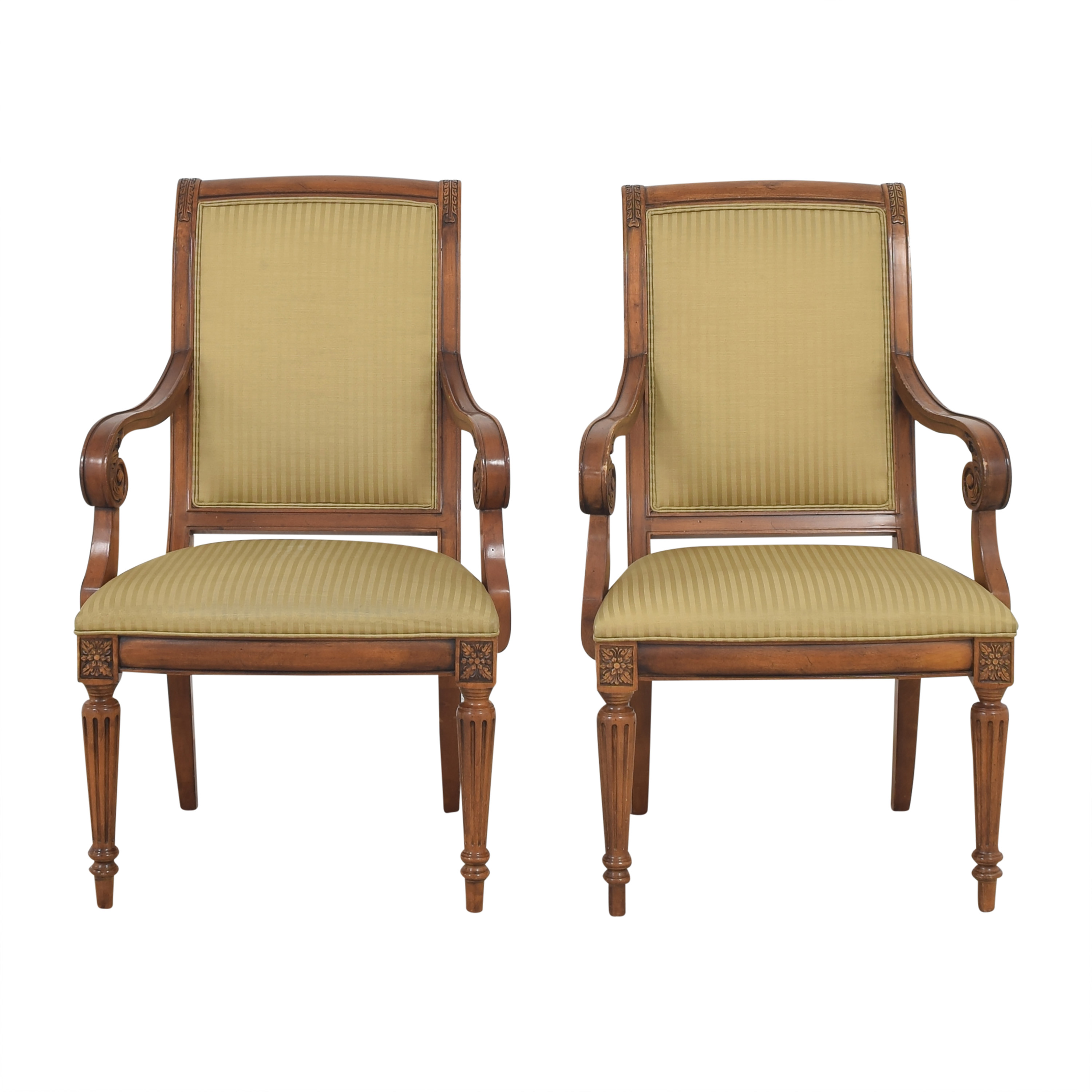 Ethan Allen Adison Dining Arm Chairs / Dining Chairs