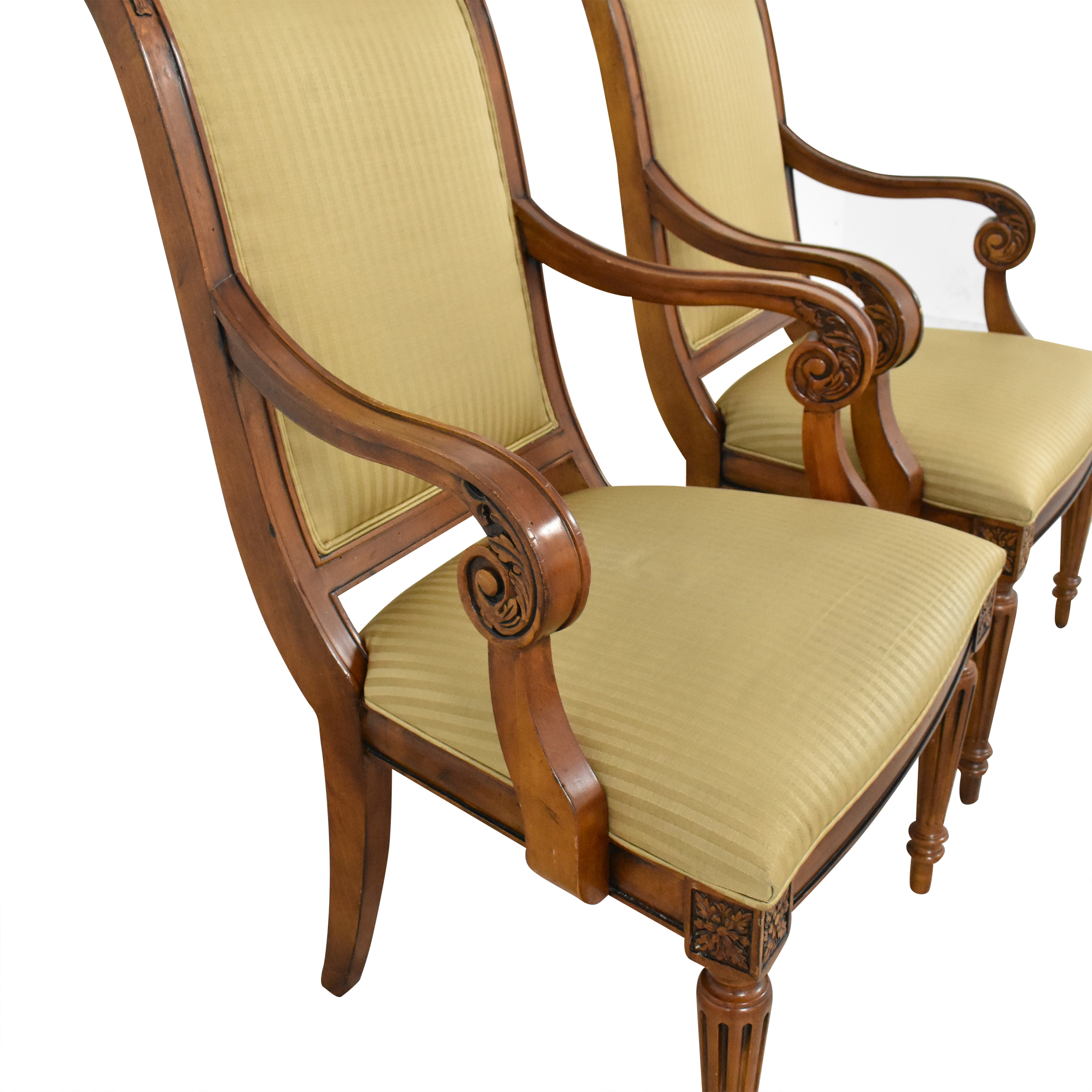 Ethan Allen Ethan Allen Adison Dining Arm Chairs coupon